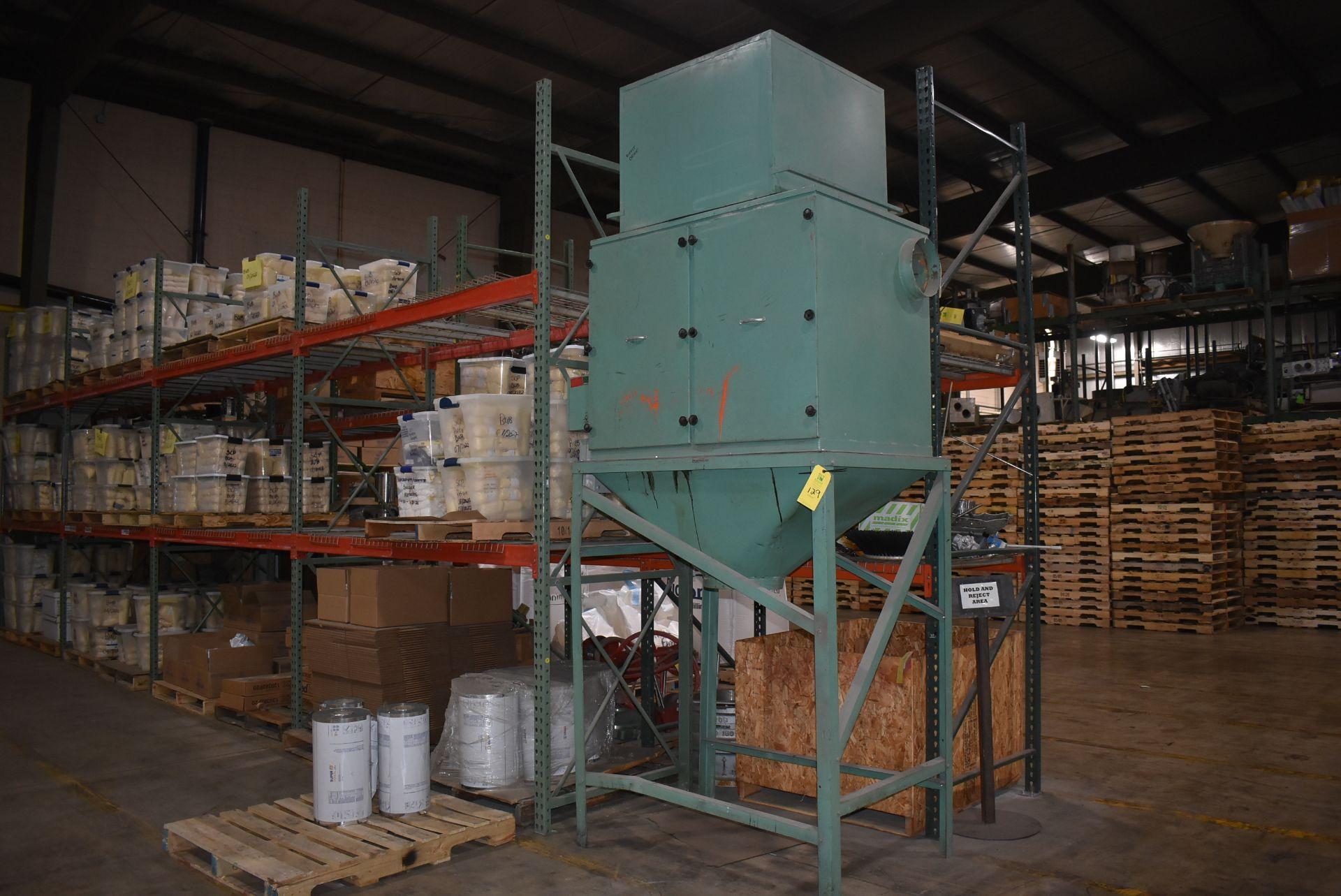 KEI Model #5035-3 Dust Collection System, Steel Leg Base
