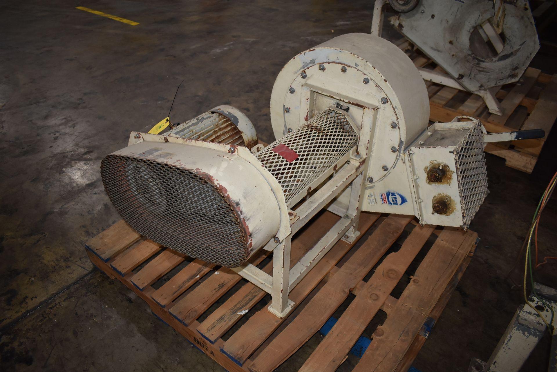 Kice Air Blower w/10 HP Motor - Image 3 of 3