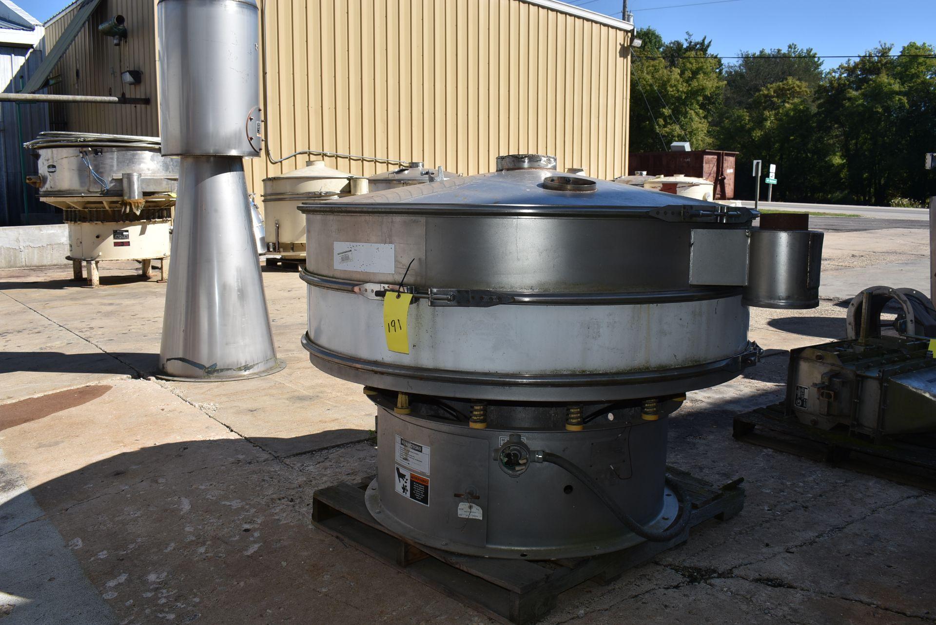 SWECO Model #X60-988 Vibratory Separator, SN 67890-A1297