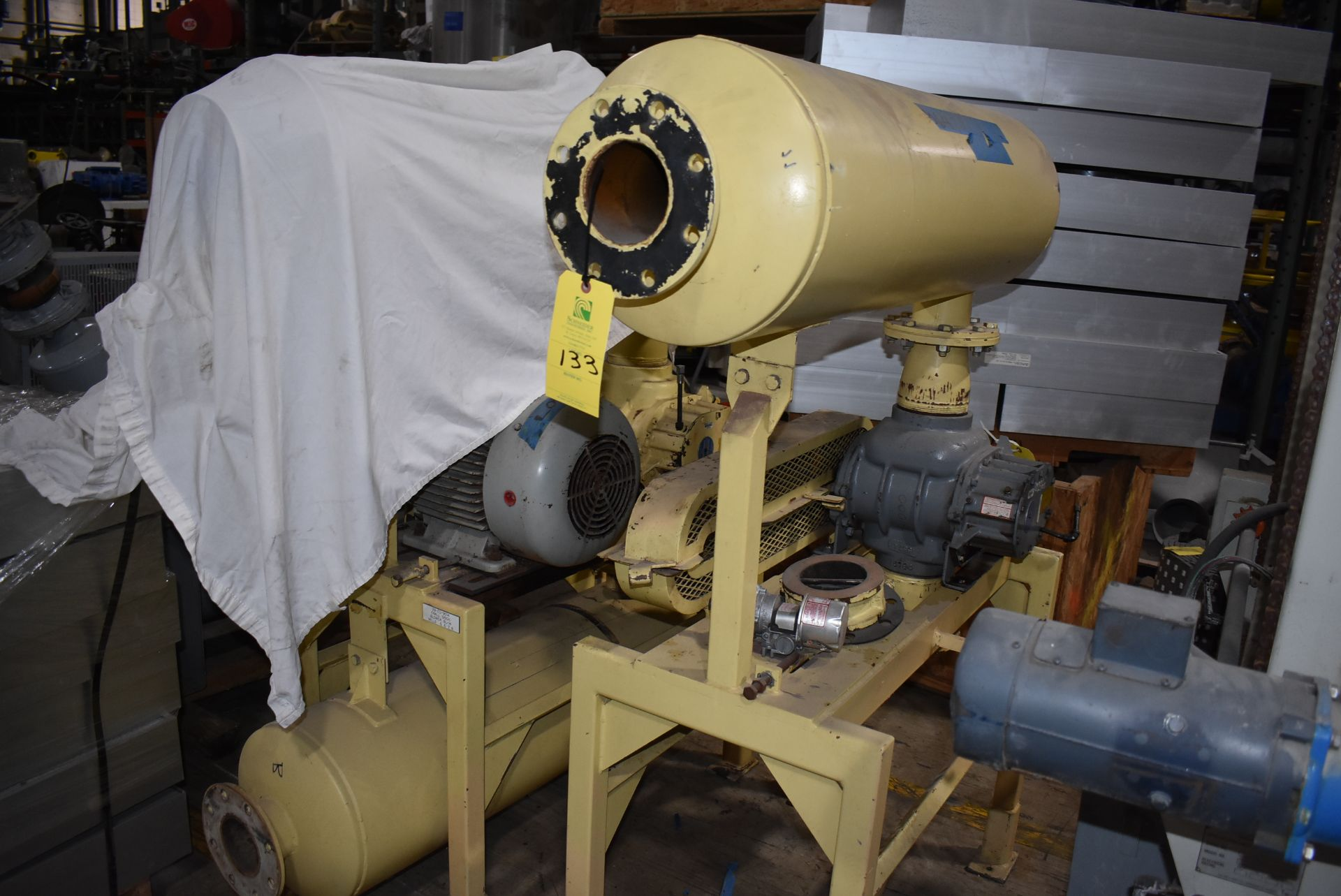 Mill Discharge Blower, NOTE - No Motor