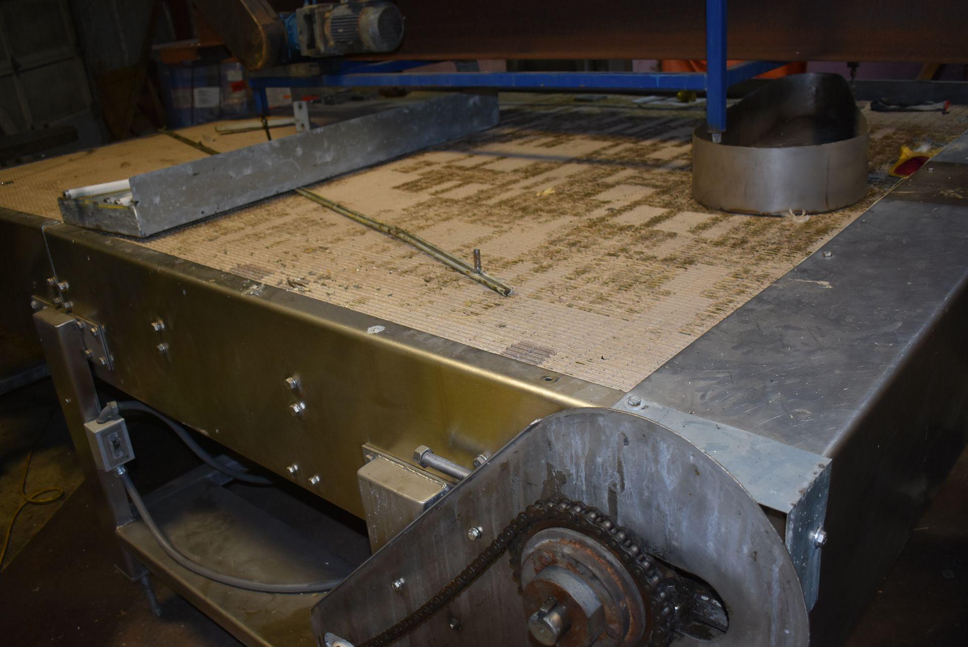 Motorized Belt Conveyor/Accumulation Table, 10' x 8' - Image 3 of 3