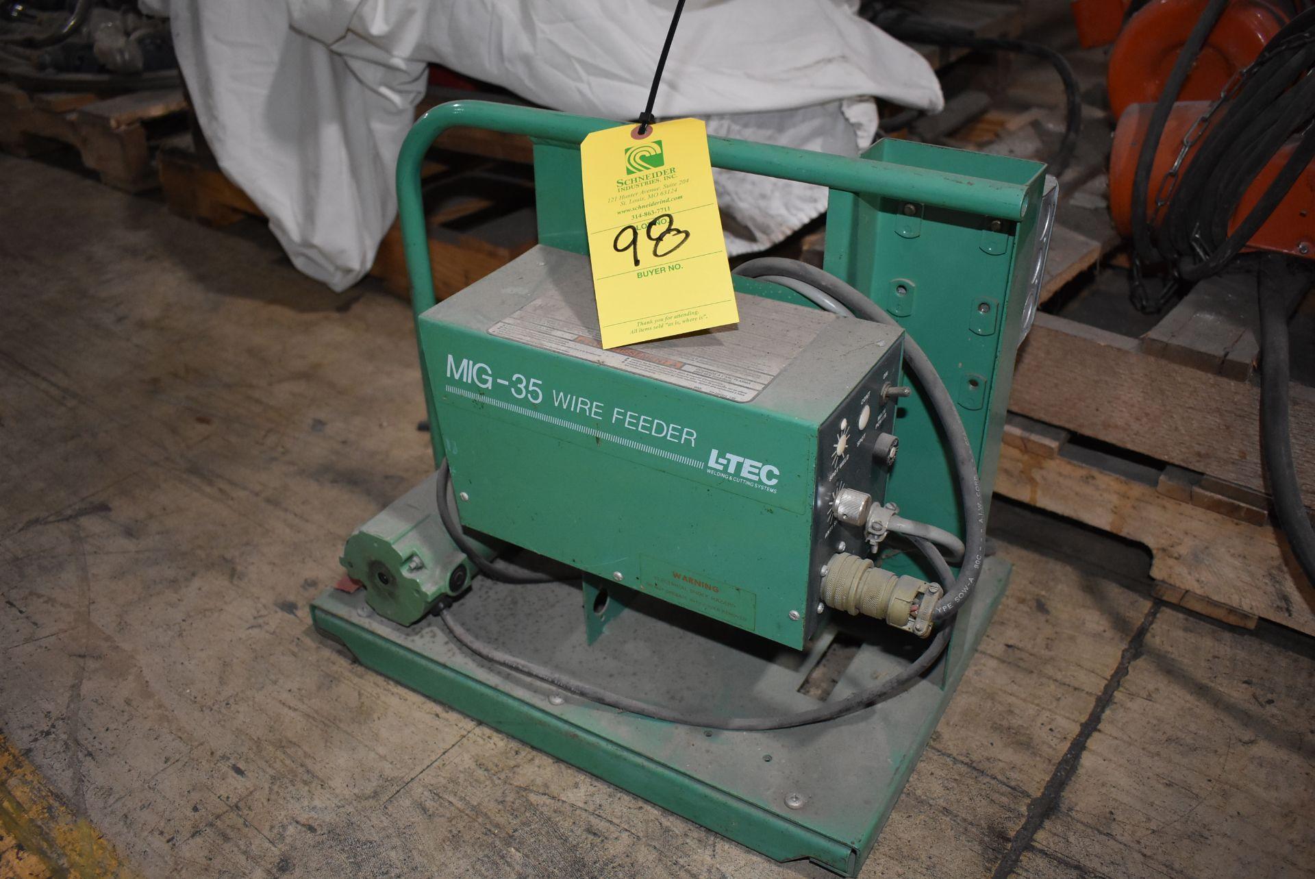L-Tec MIG-35 Wire Feeder