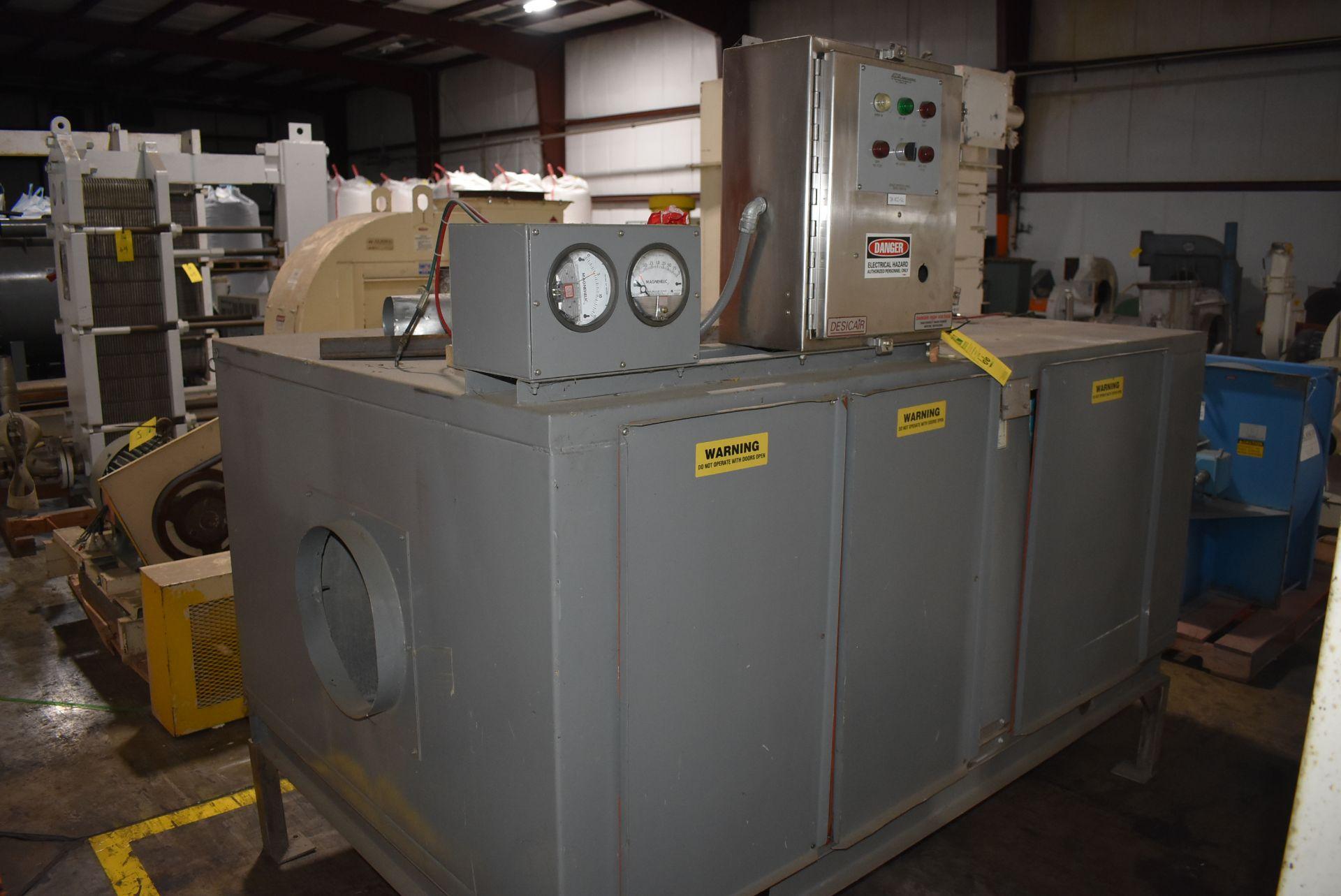 Desicair Model #AHU-1200 Air Handler, Process Air Rated 1200 ACFM, SN 9709812