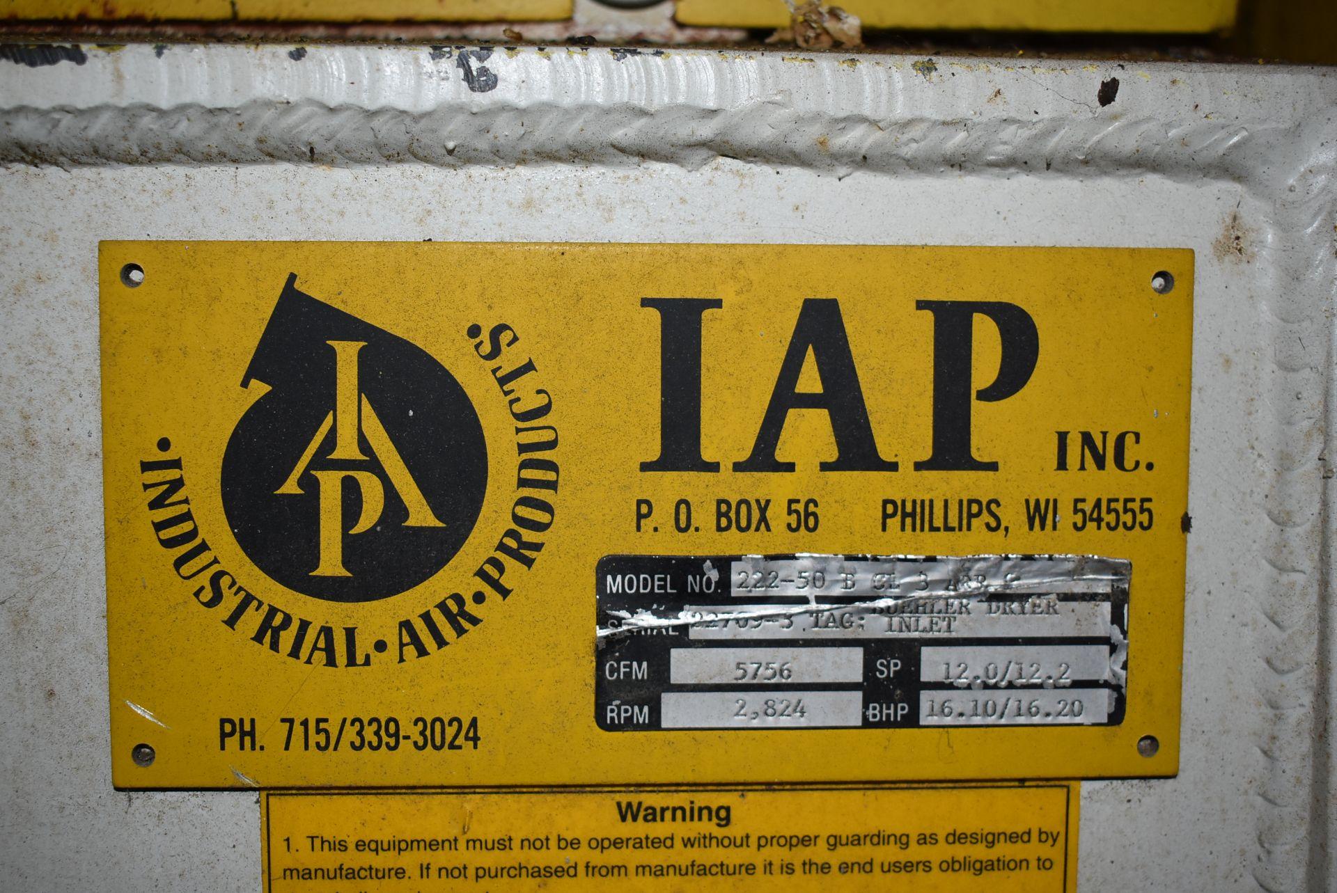IAP Inc. Model #222-50-D Blower w/Marathon 20 HP Motor - Image 2 of 3