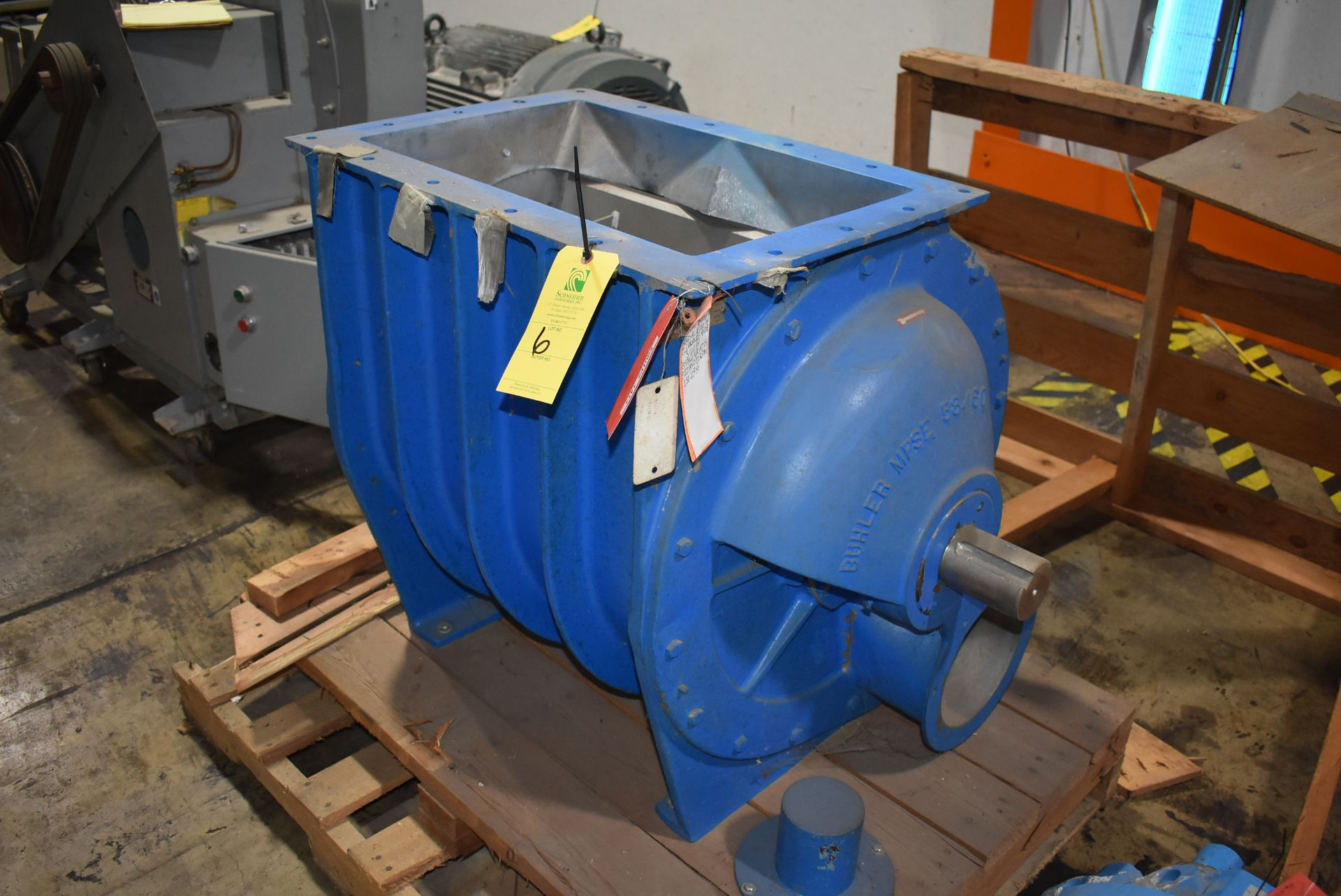 Buhler Model #58/60 Airlock, SN 75001