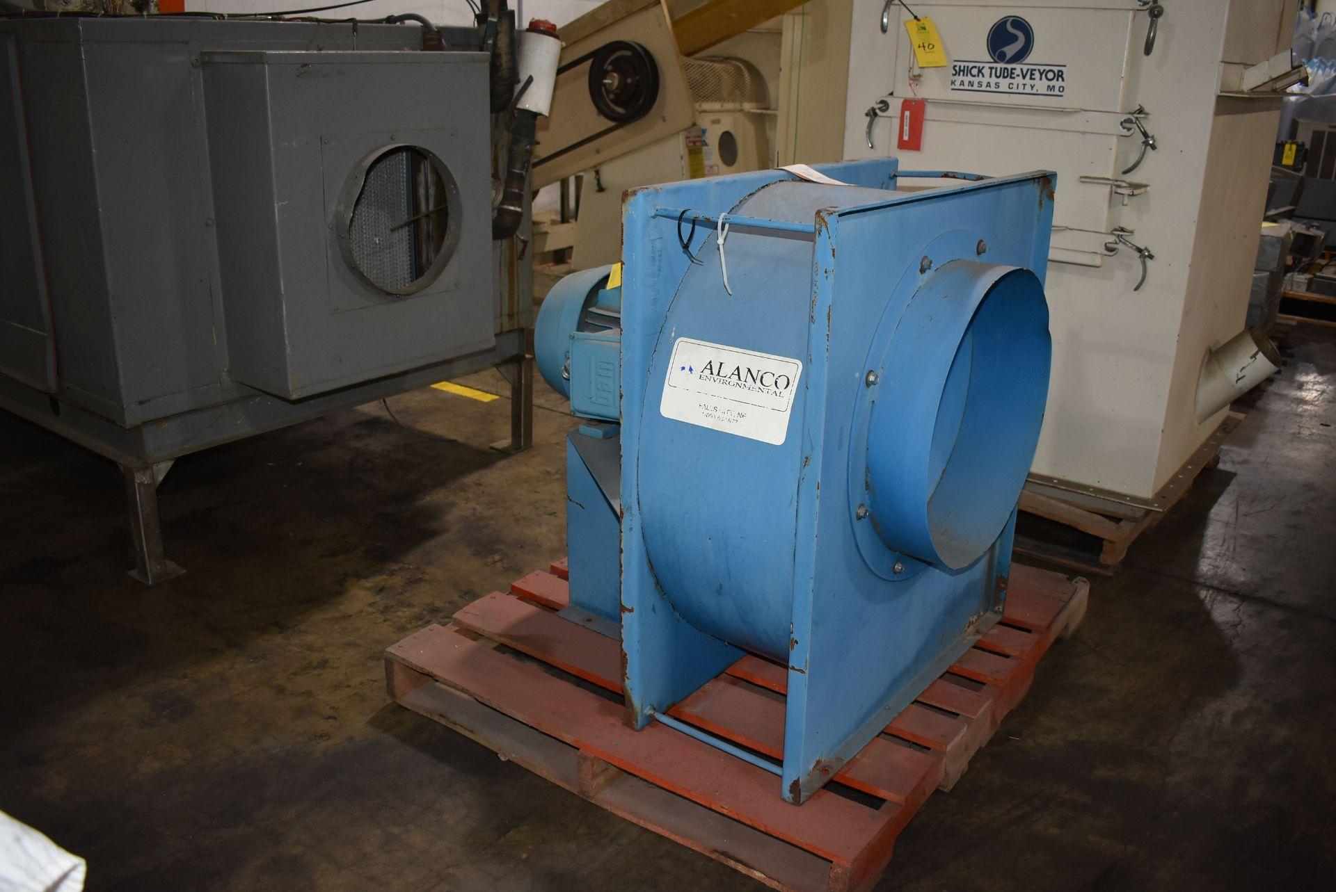 Alanco Model #C20-20 Fan w/20 HP Motor - Image 3 of 3