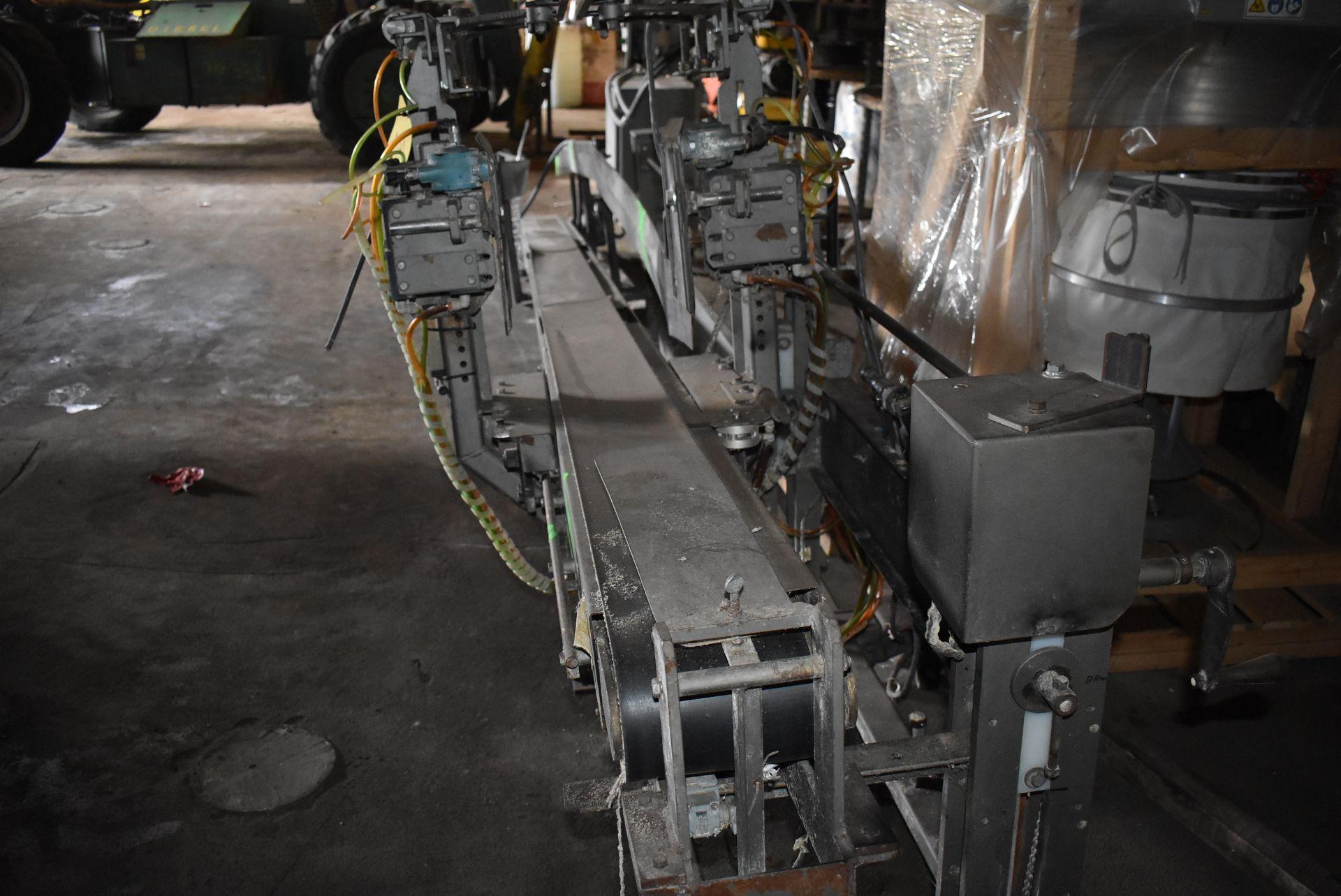 "Taylor Products Motorized Belt Conveyor, 18' Length x 7"" Wide Belt - Image 2 of 3"