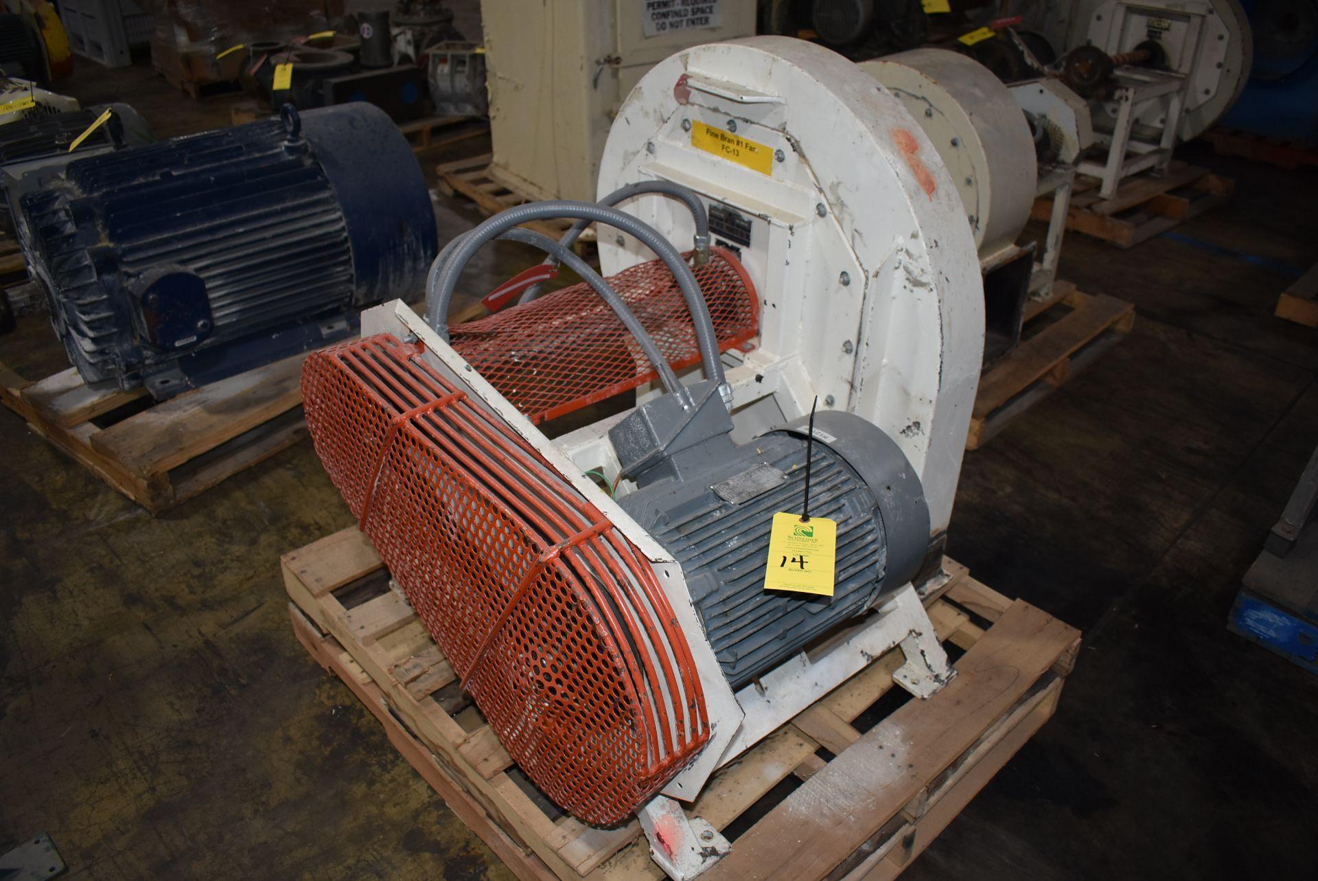 Kice Model #FC13W12-W8 Blower Unit, 15 HP Motor