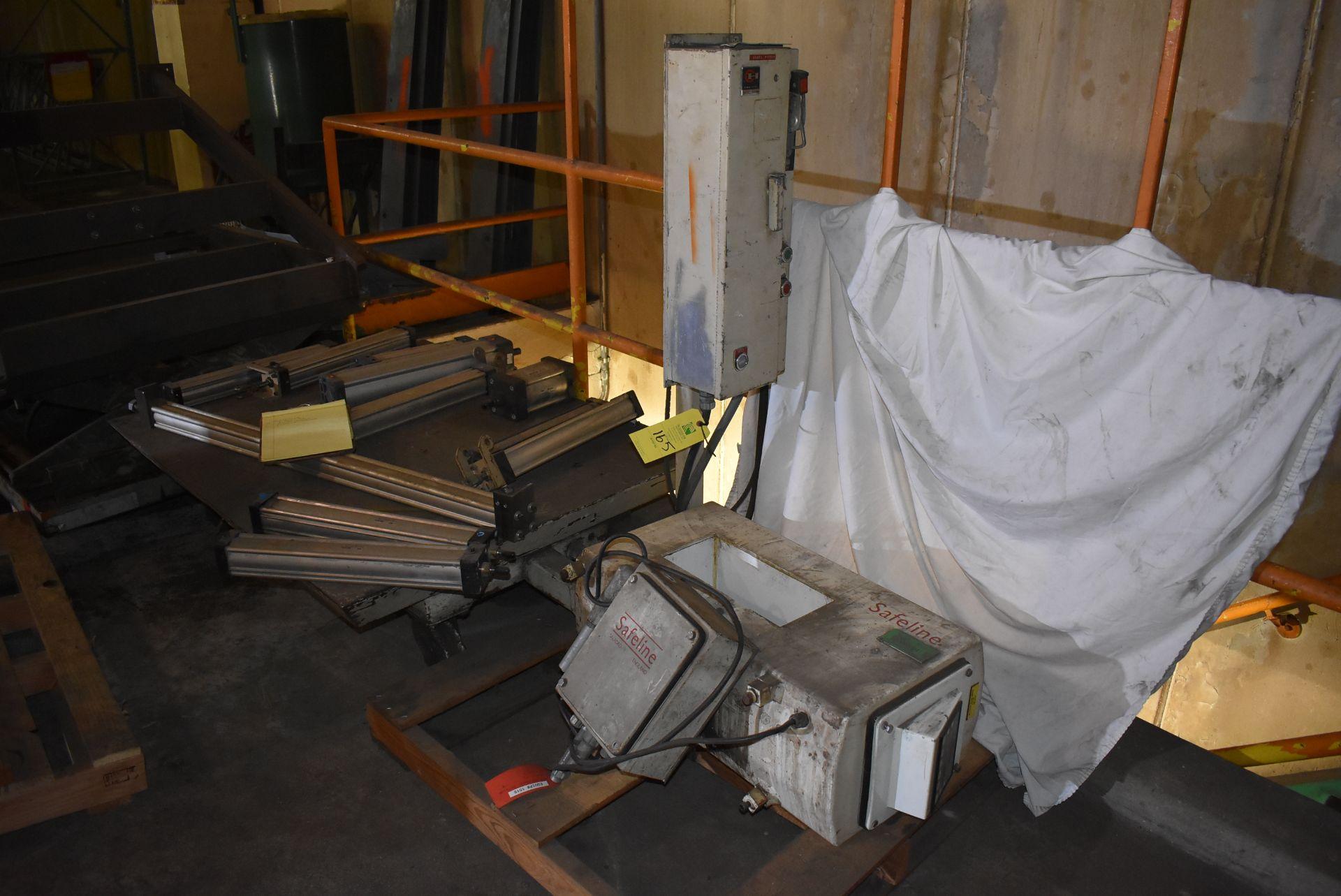 "Safeline Model #42 Metal Detector, 13 1/2"" x 6"" Aperture"
