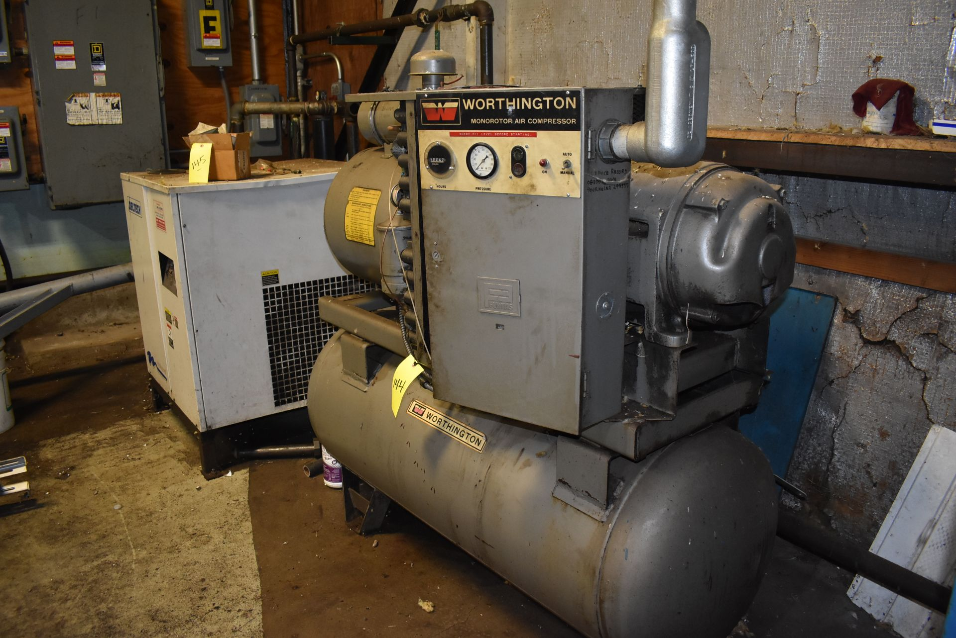 Worthington 30 HP Monoroto Air Compressor - Image 2 of 2