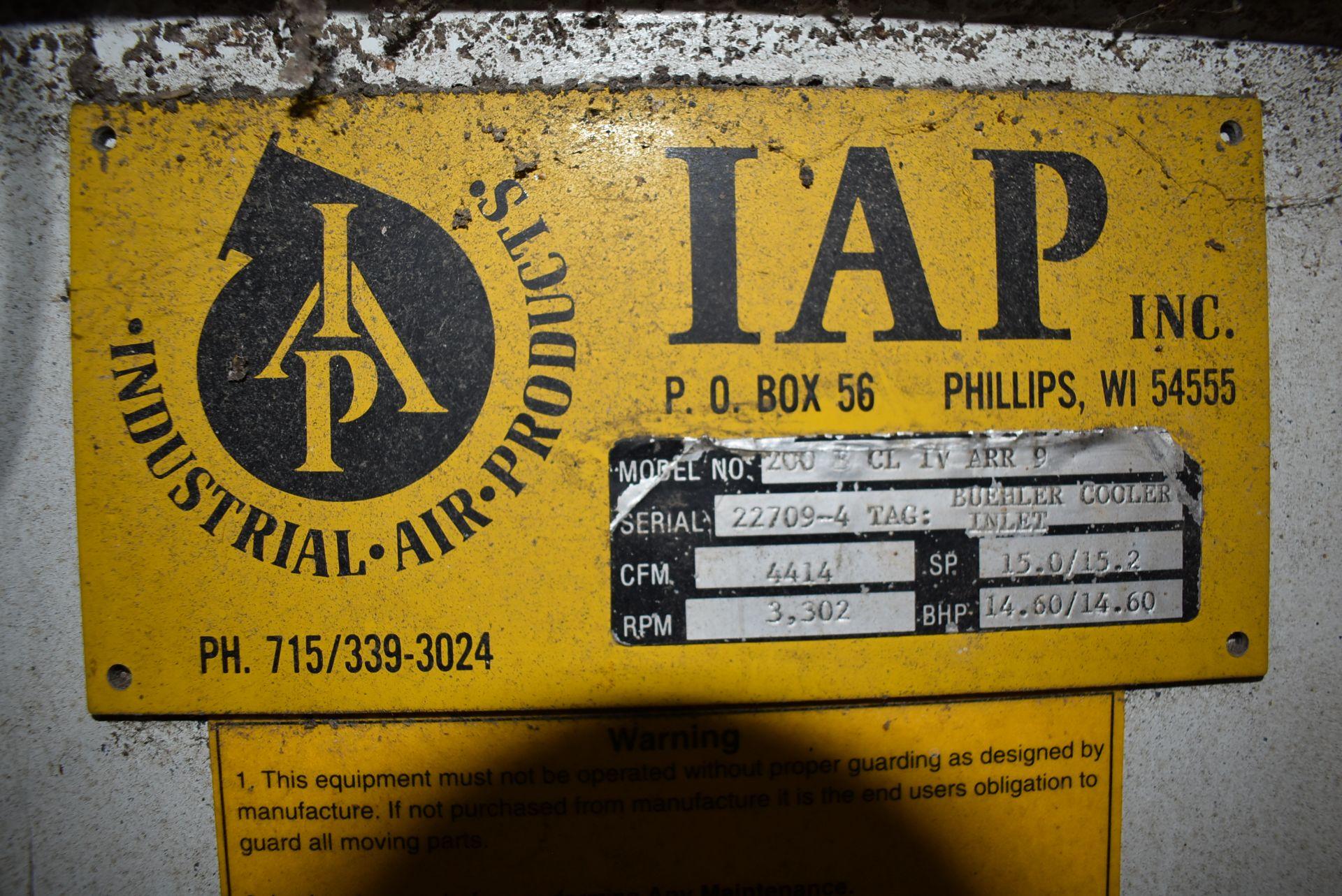 IAP Inc. Blower w/Marathon 20 HP Motor - Image 3 of 3