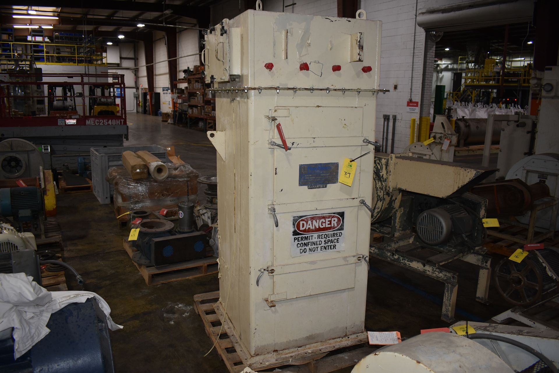 Flex-Kleen Model #58BVBS16 I Dust Collector