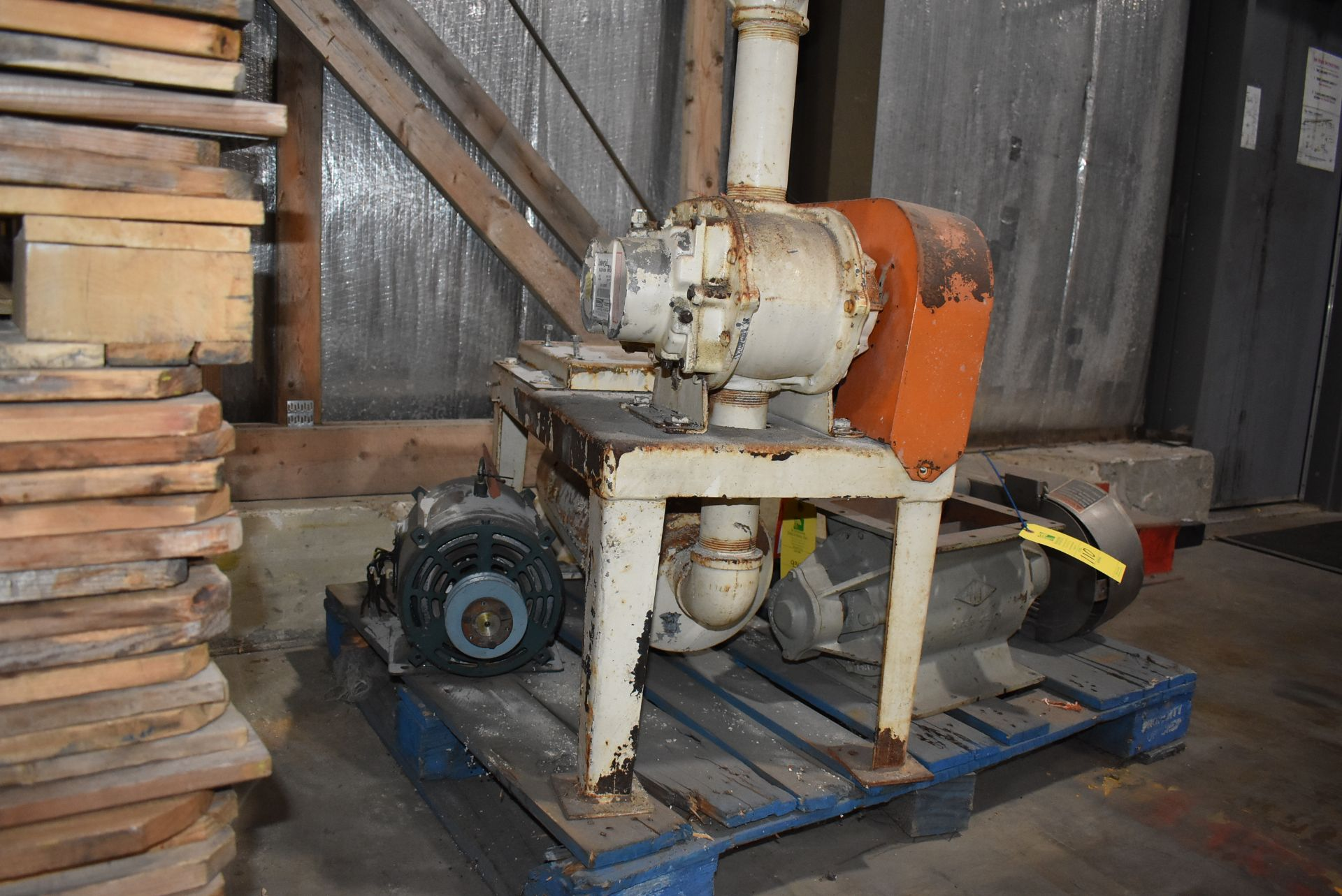 Plant Support Consisting of Air Lock, Base, 7 1/2 HP Motor - Image 2 of 2