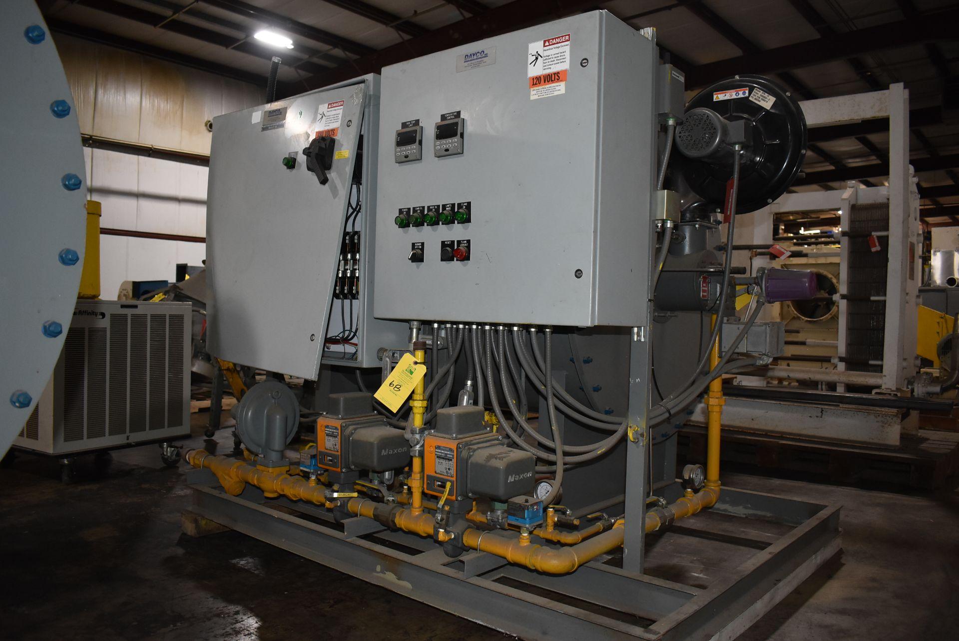 Dayco Model #DFG2200 Direct Fire Handling Unit, SN 119609-B - Image 5 of 5
