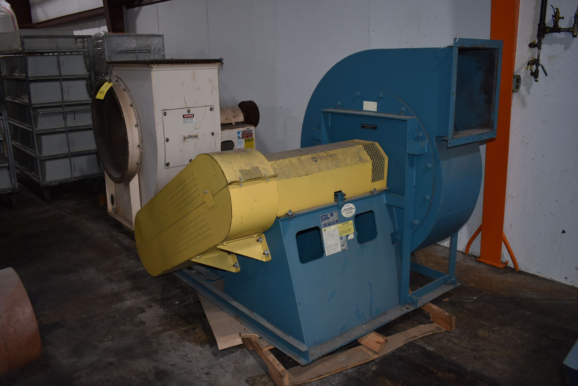 SWECO Coating Systems Twin City Type RBO-SW Blower, Size 917 w/30 HP Motor - Image 3 of 3