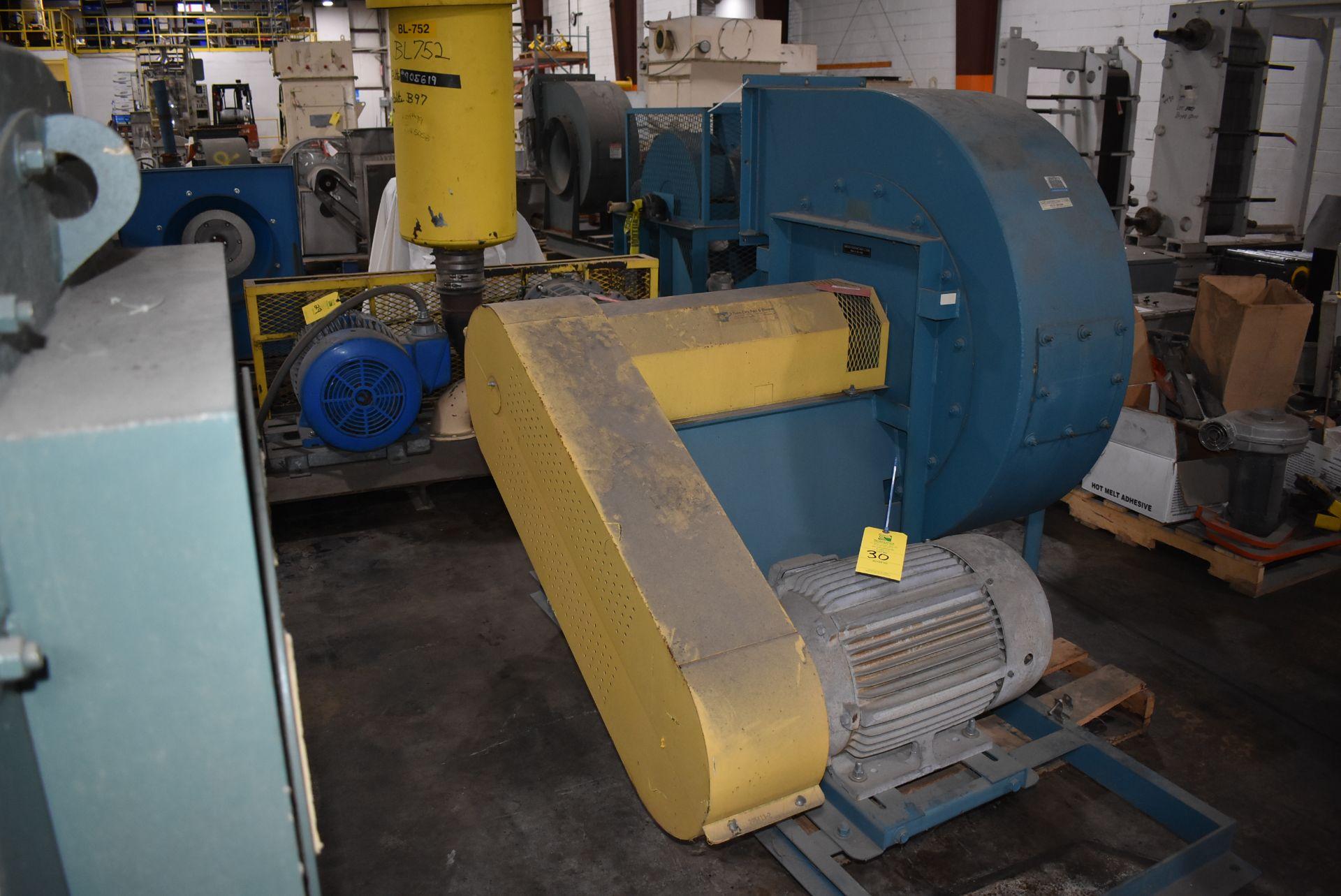 Twin City Type RBO-SW Blower, Size 917 w/30 HP Motor