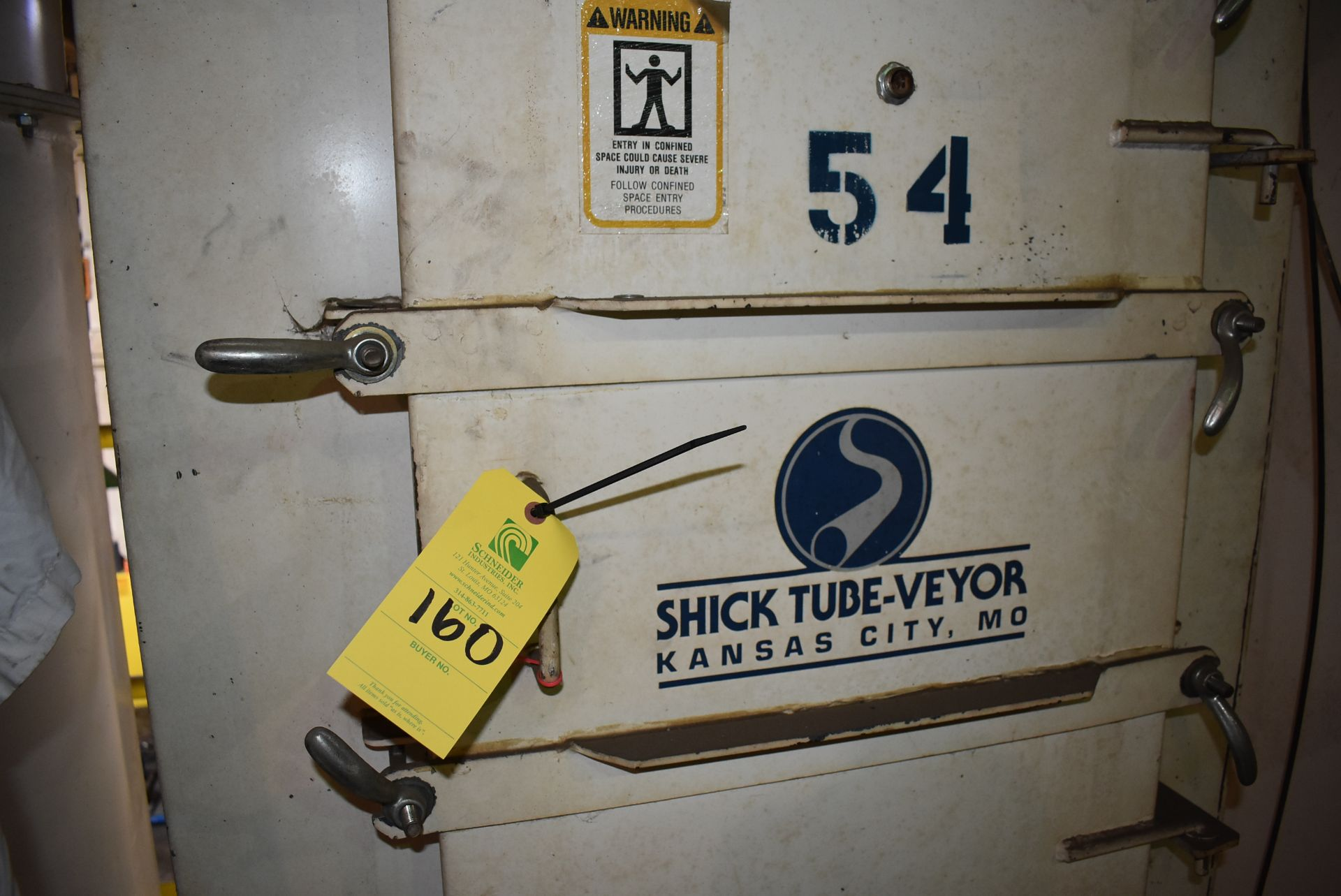 Shick Tube-Veyor Model #58A025 Auto Jet Filter System - Image 2 of 3