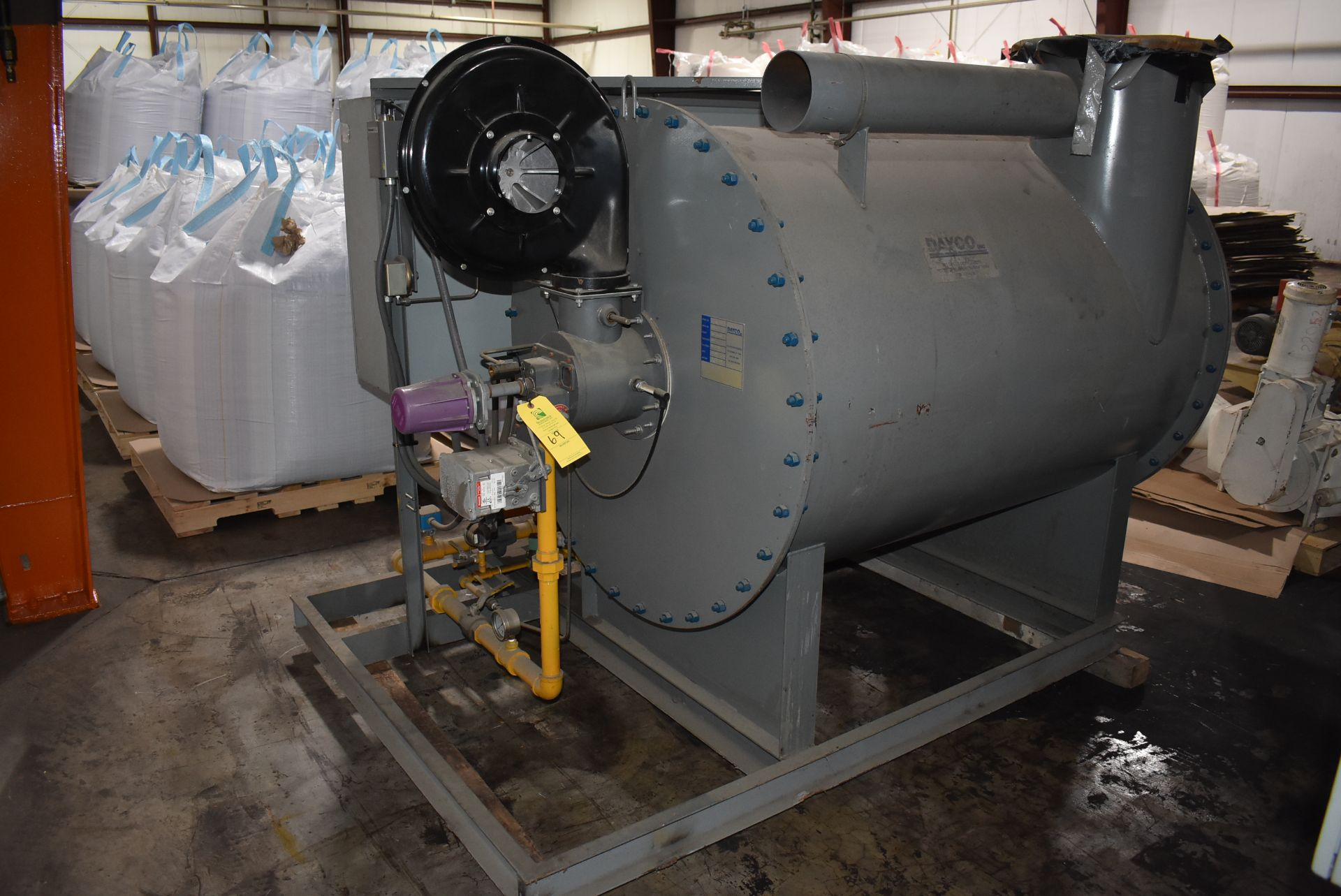 Dayco Model #DFG2200 Direct Fire Handling Unit, SN 119609-A - Image 4 of 5