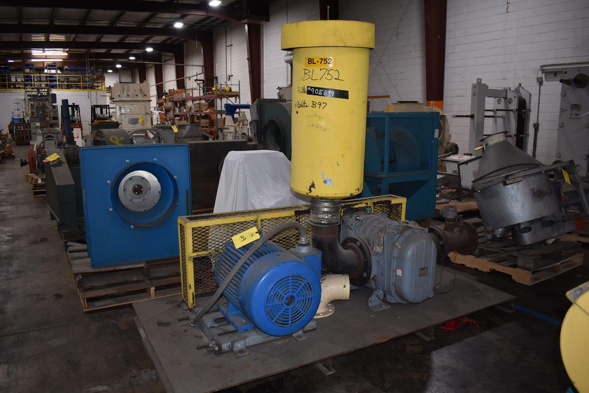 Gardner Denver Dura Flow System Catalog 7012 Vac Pump w/75 HP Motor - Image 4 of 4