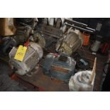 Skid - (5) Motors, Assorted