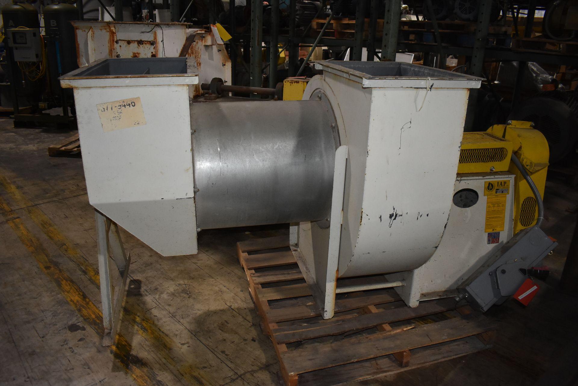 IAP Inc. Model #222-50-D Blower w/Marathon 20 HP Motor