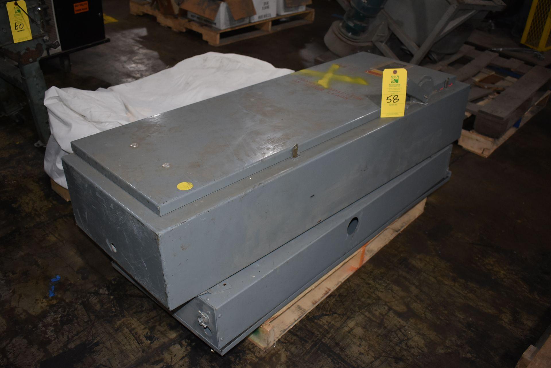 Qty. (2) Allen Bradley Electric Panel Boxes