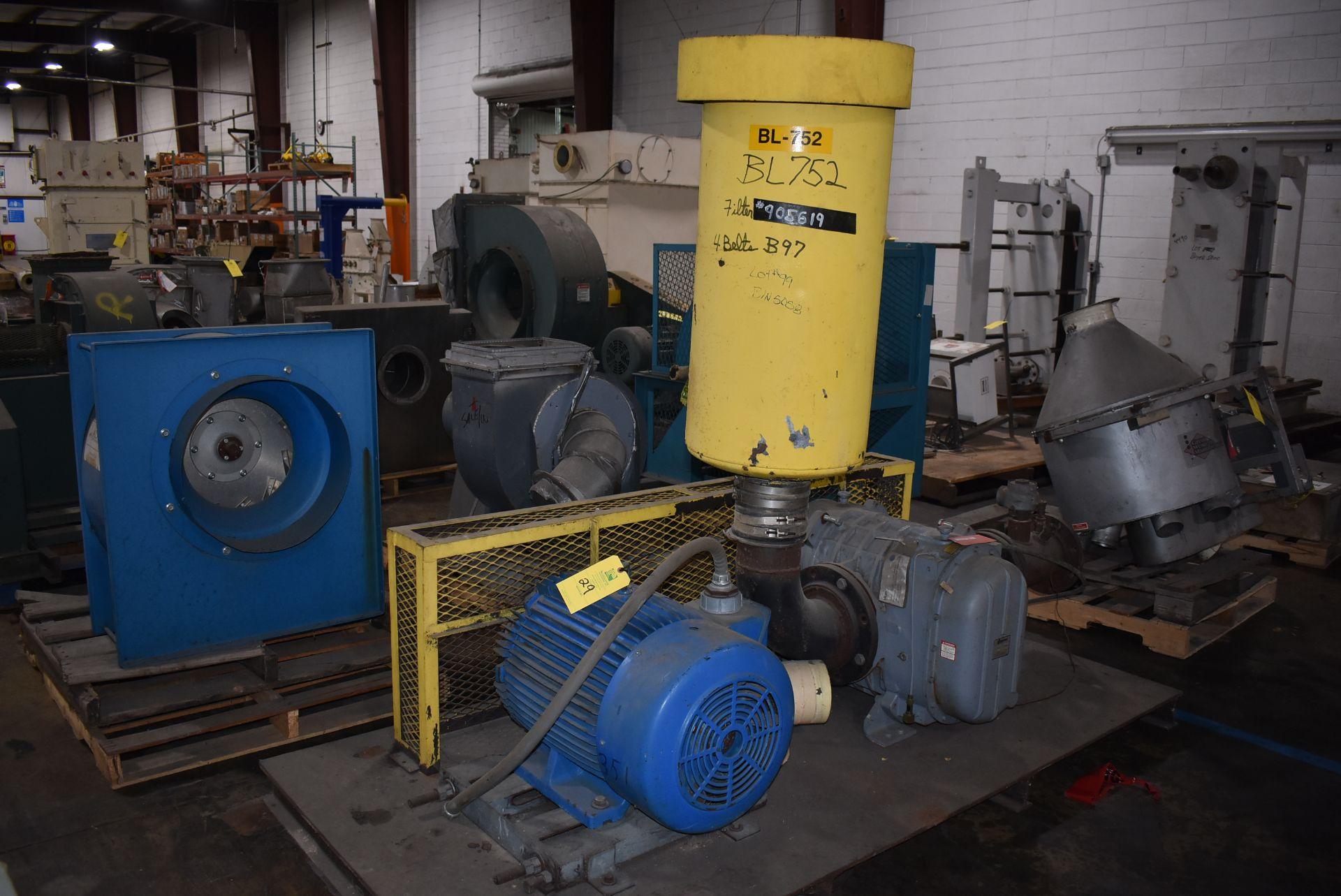 Gardner Denver Dura Flow System Catalog 7012 Vac Pump w/75 HP Motor