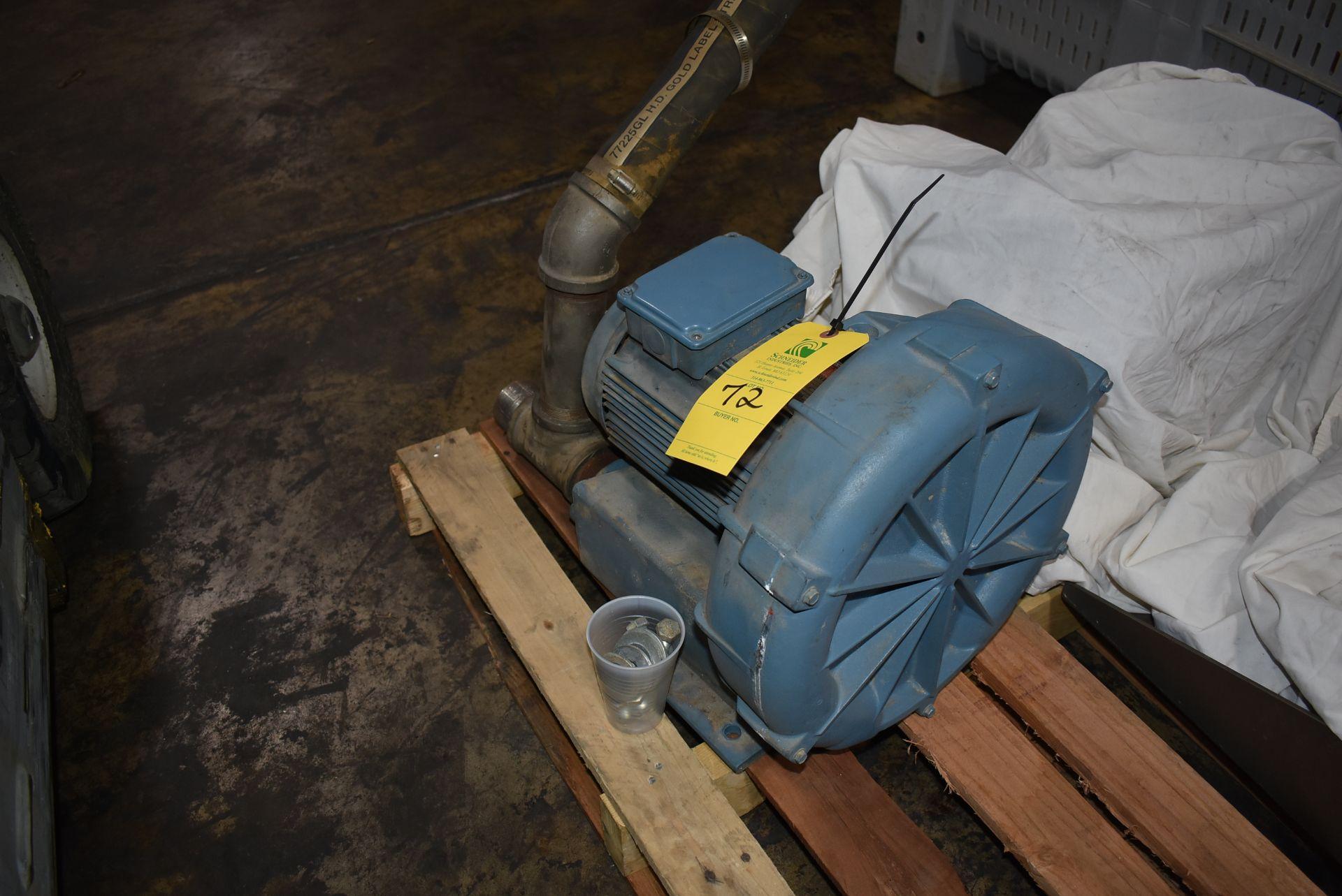 Ametek EG Rotron Model #DR606CK72M Blower w/Motor