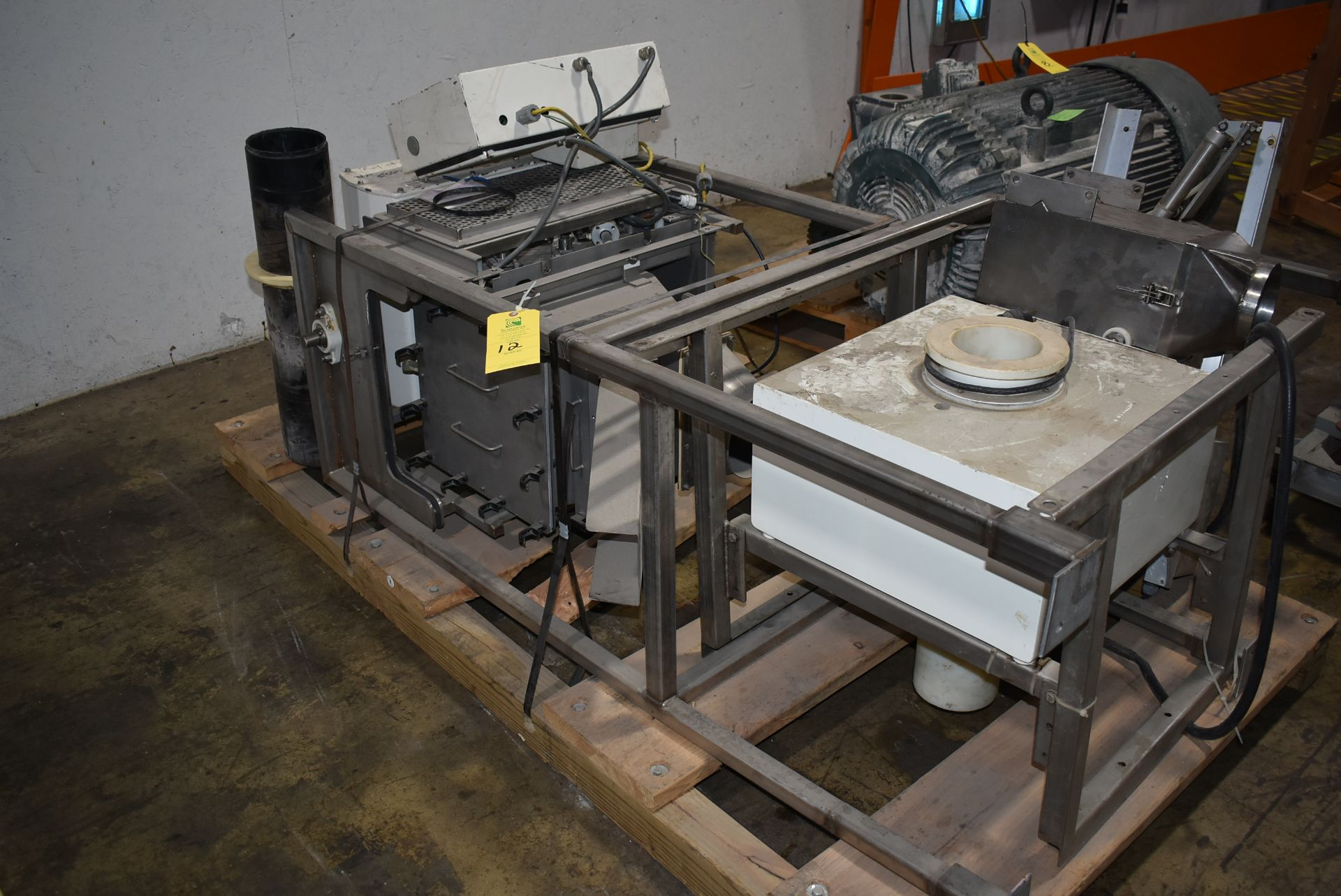 Stainless Steel Hopper, Includes Safeline Plus Power Phase Metal Detector, Thermo Goring Kerr