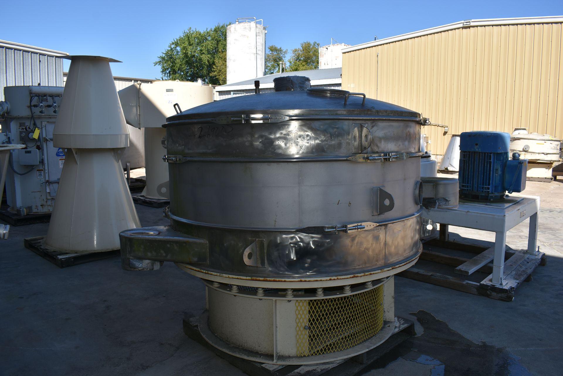 SWECO Model #US72S108 Vibratory Separator, SN 978-50 - Image 3 of 3