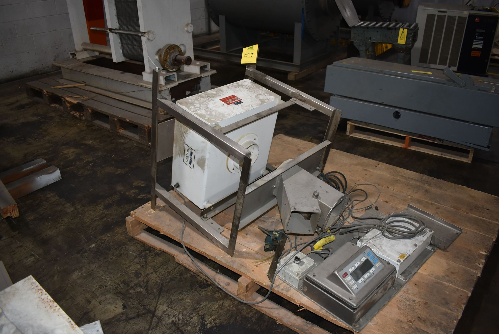 Goring Kerr Model #402-6 Metal Detection System, SS Stand
