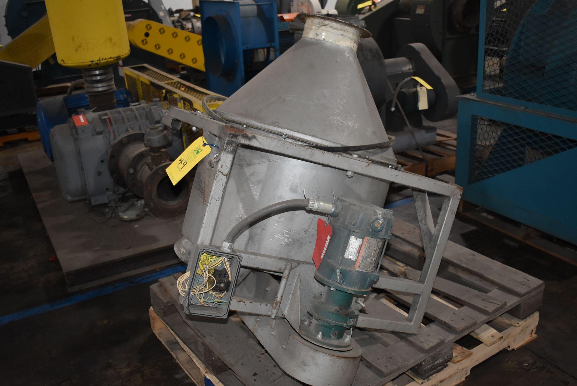 Great Western Hopper Distribution System, Stainless Steel Hopper w/Motor - Image 2 of 3