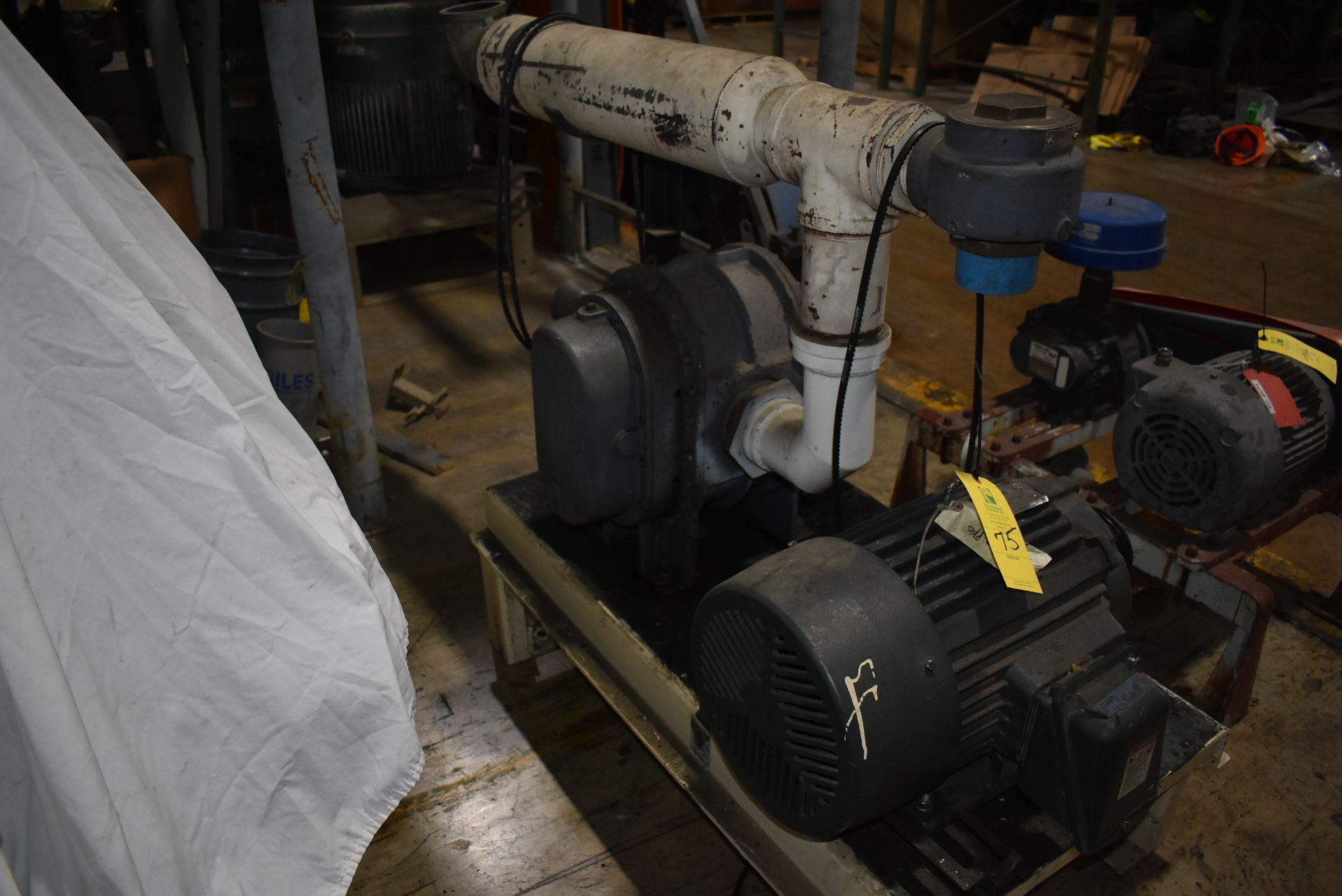 Blower Package w/Toshiba 15 HP Motor - Image 2 of 2