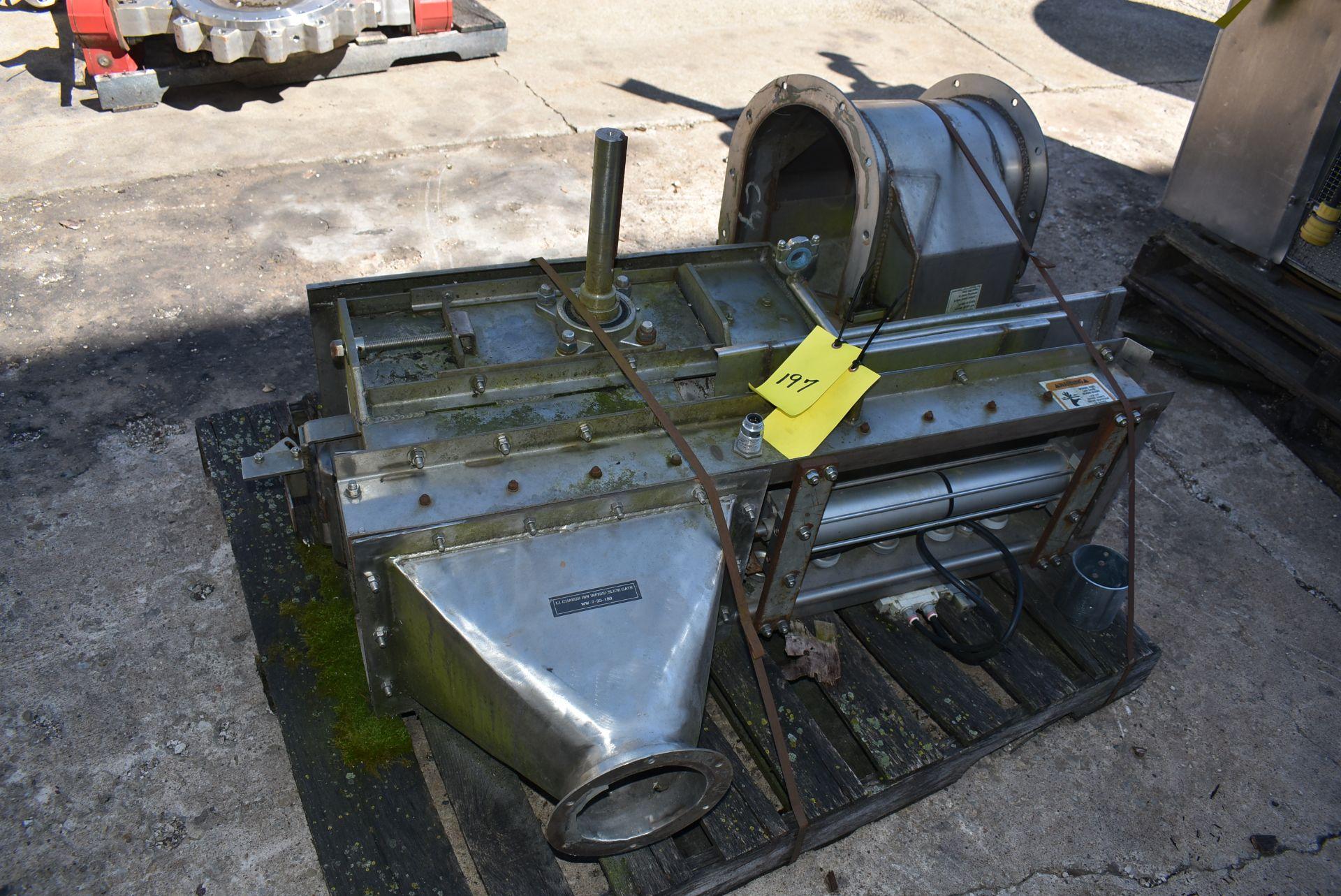 Essmueller Company SS Model #RB9-5 Hopper/Infeed Slide Gate