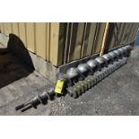 Qty. (3) Assorted Stainless Steel Augers