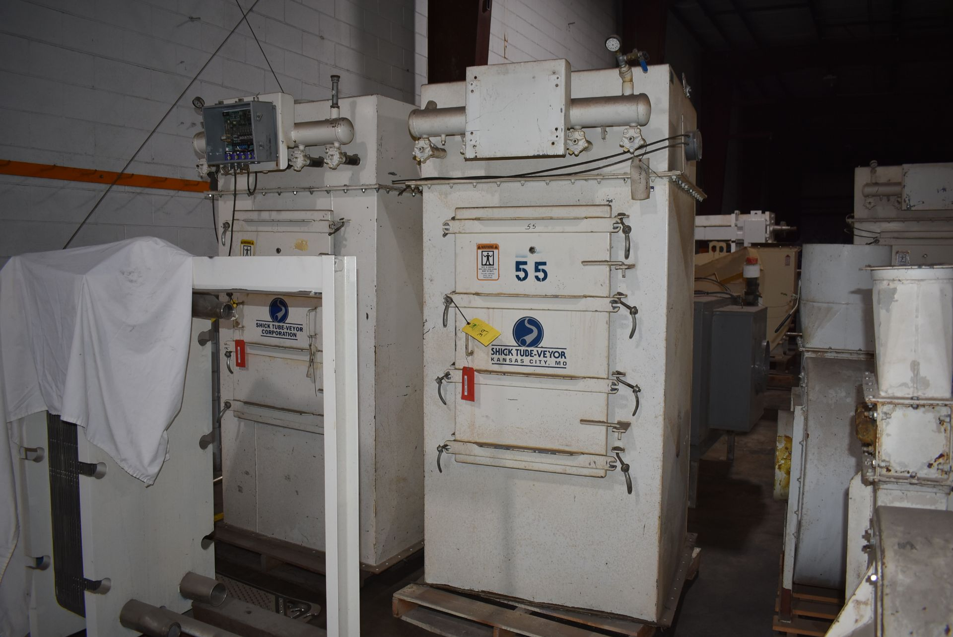 Shick Tube-Veyor Dust Collection System