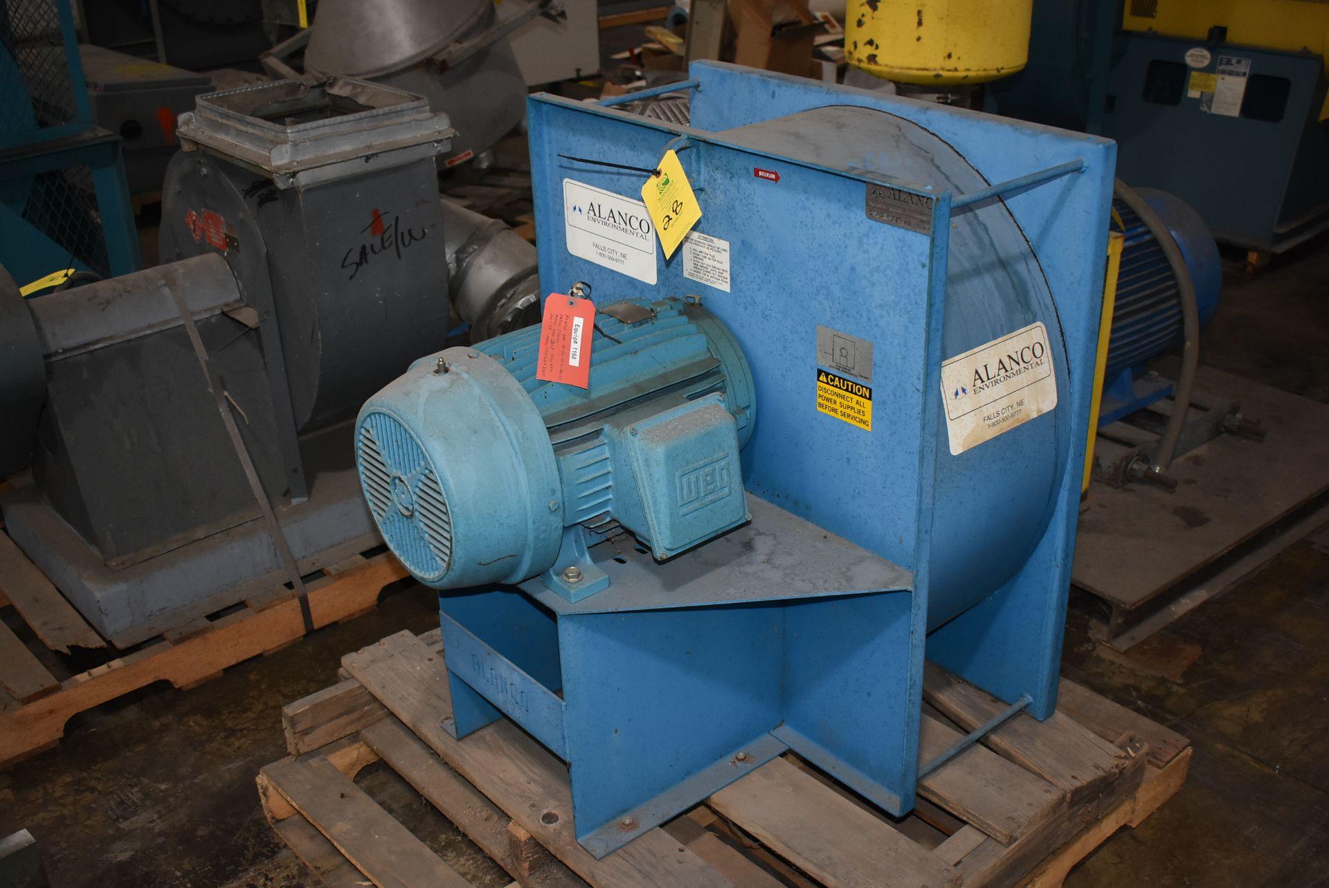 Alanco Environmental Model #C2020 Blower w/20 HP Motor