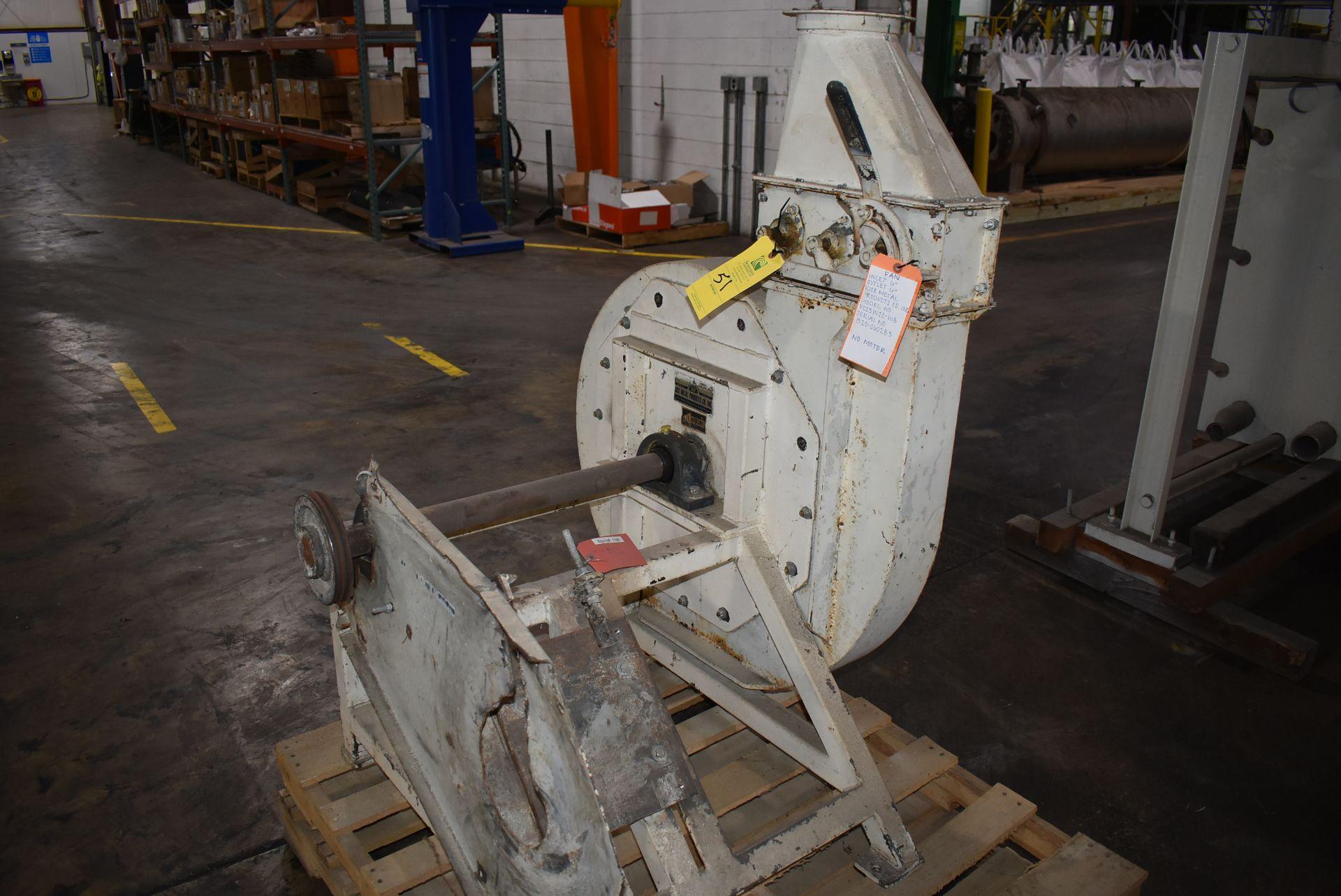 Kice Model #FC13W12-W8 Fan, NOTE - No Motor - Image 2 of 2