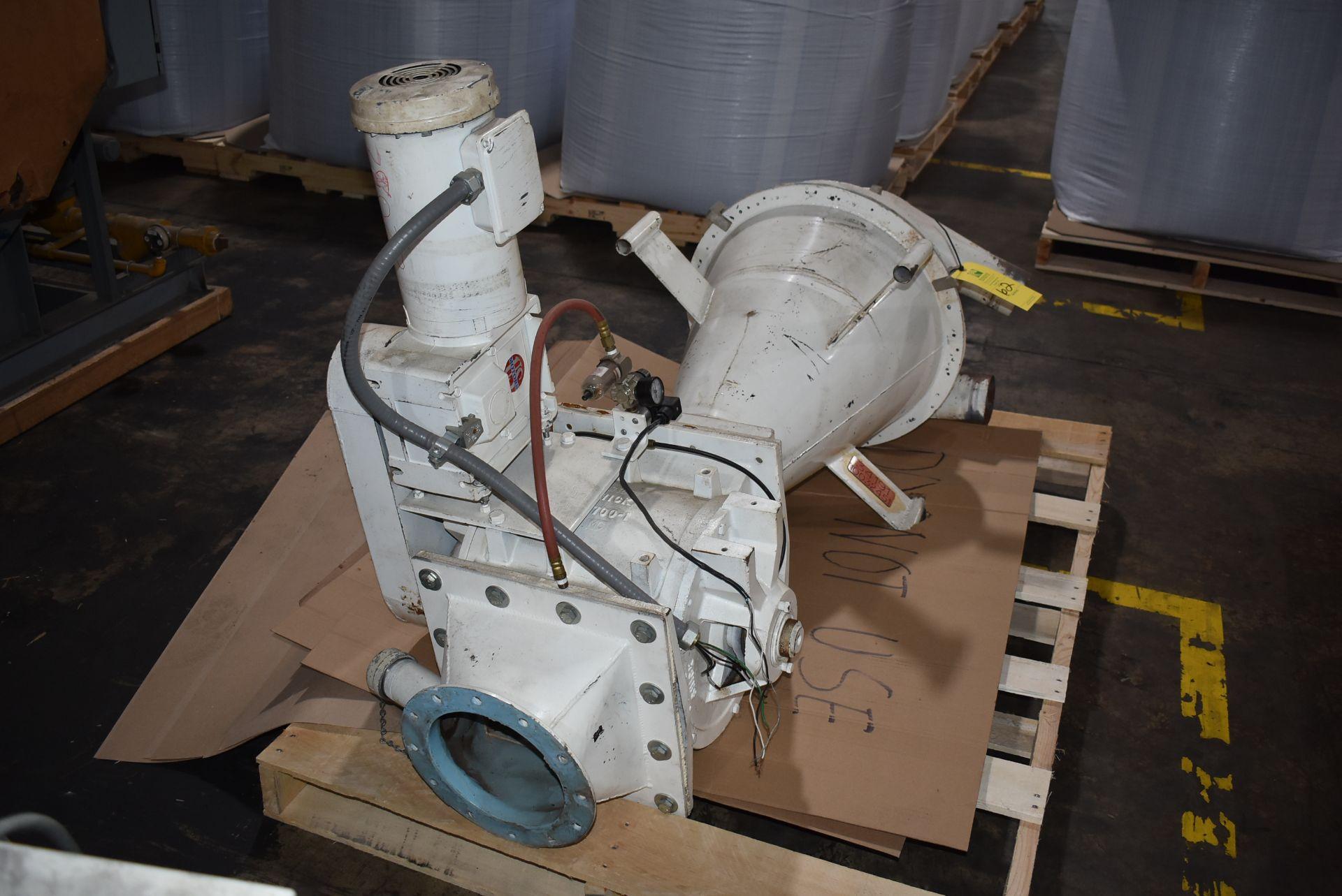 Hopper/Air Lock with 3/4 HP Motor - Image 2 of 2