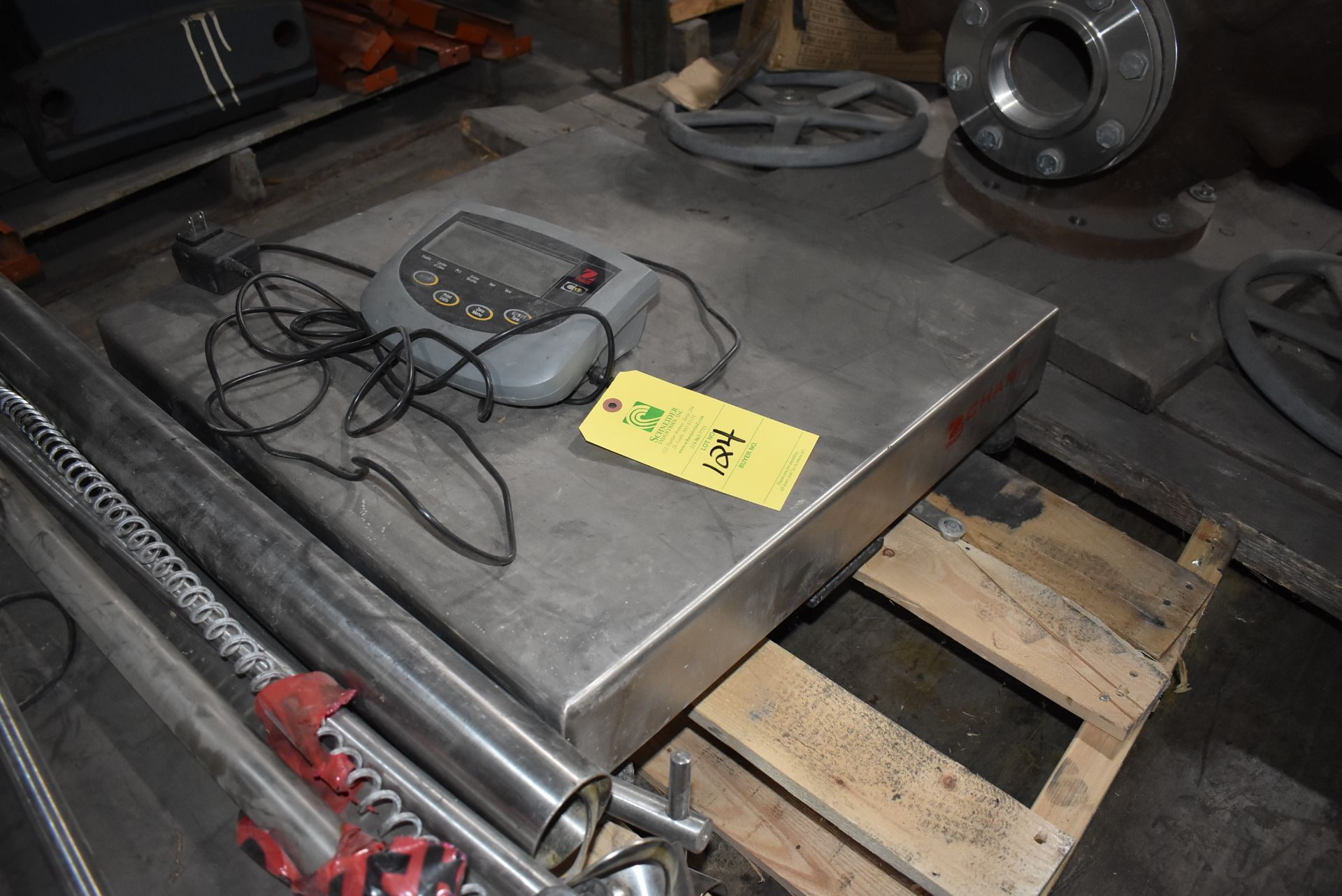 "Ohaus 24"" x 24"" Platform Scale"