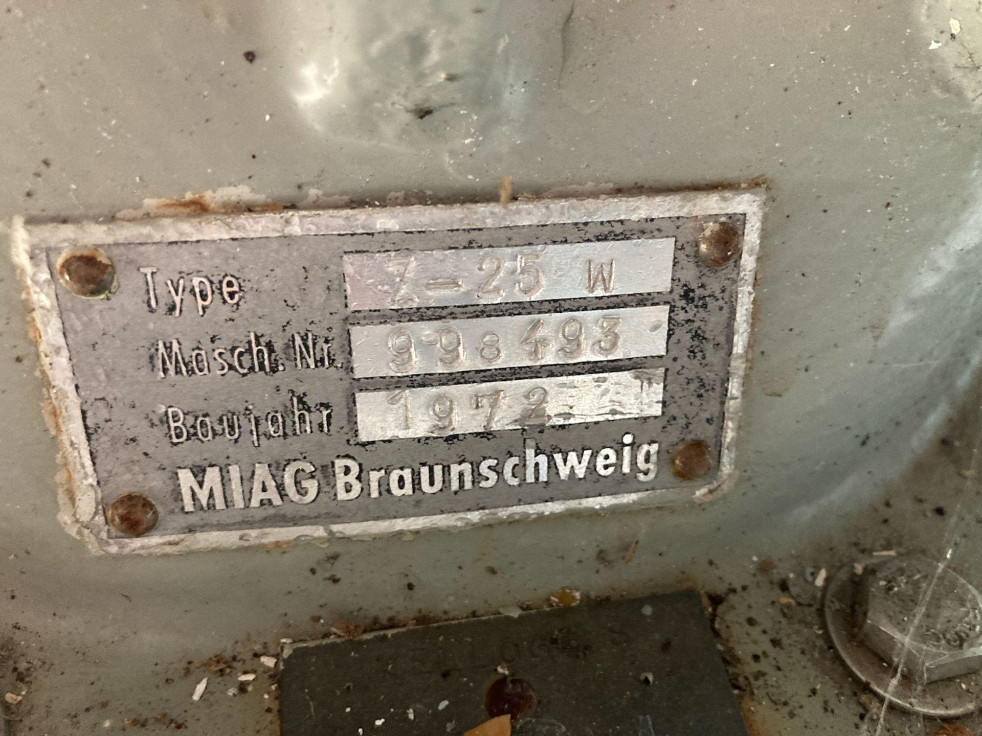 MIAG Braunschweig Rotary Valve Type Z-25W S/N 998493 - Image 2 of 2