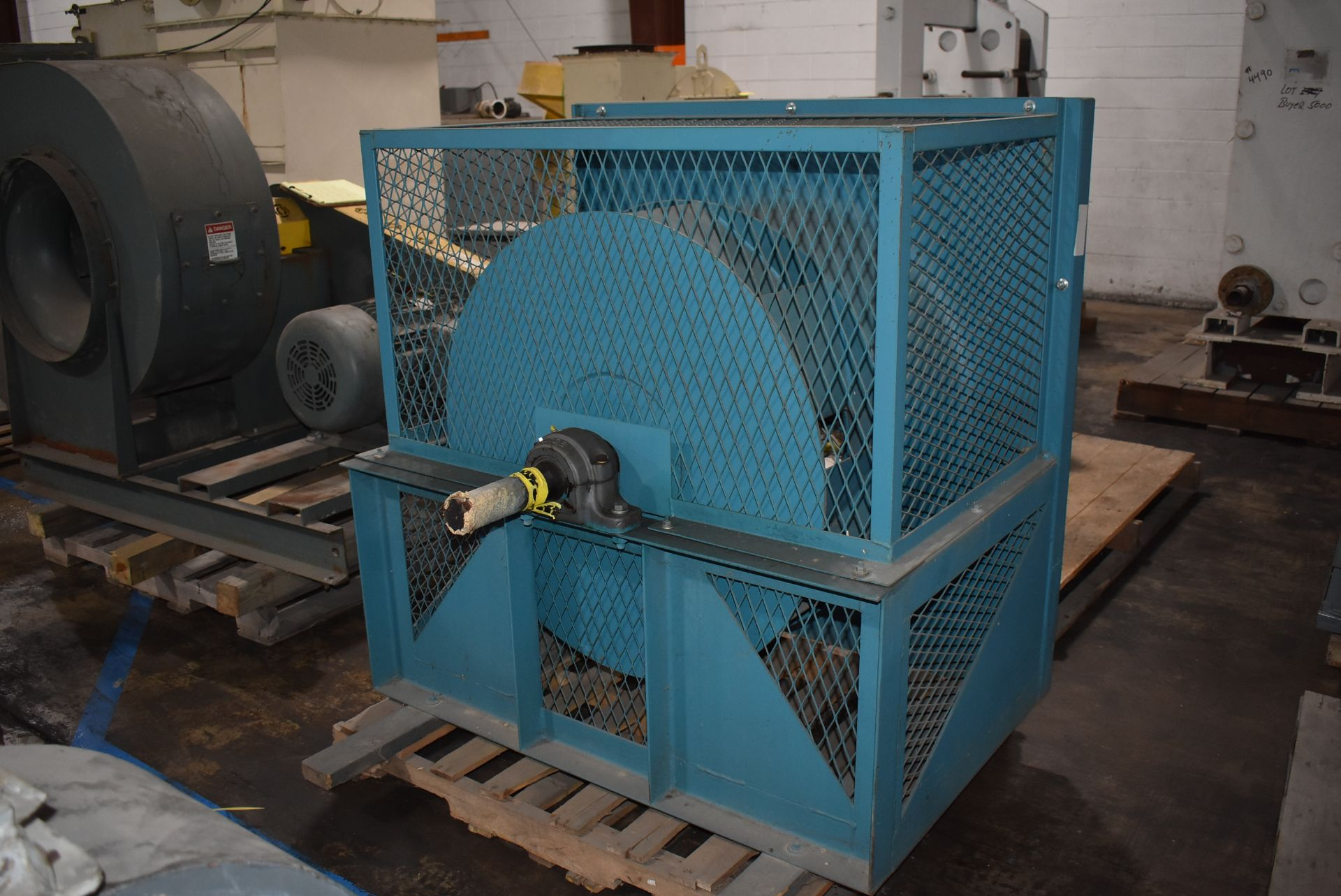 Twin City Type AFPP-SW Blower, Size 36 w/Enclosure - Image 3 of 4