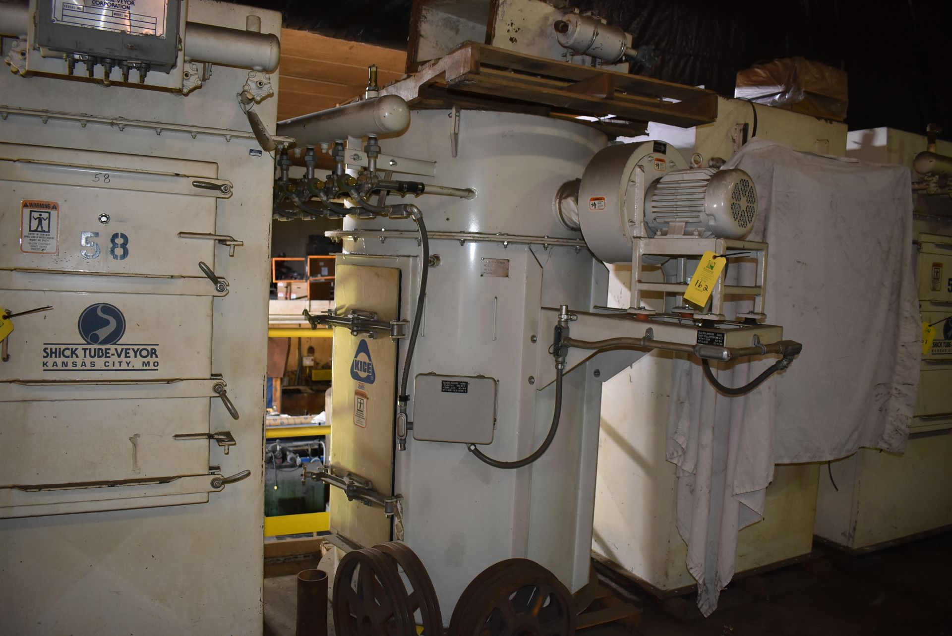 Kice Model #VR-214BINVENT Dust Collection System