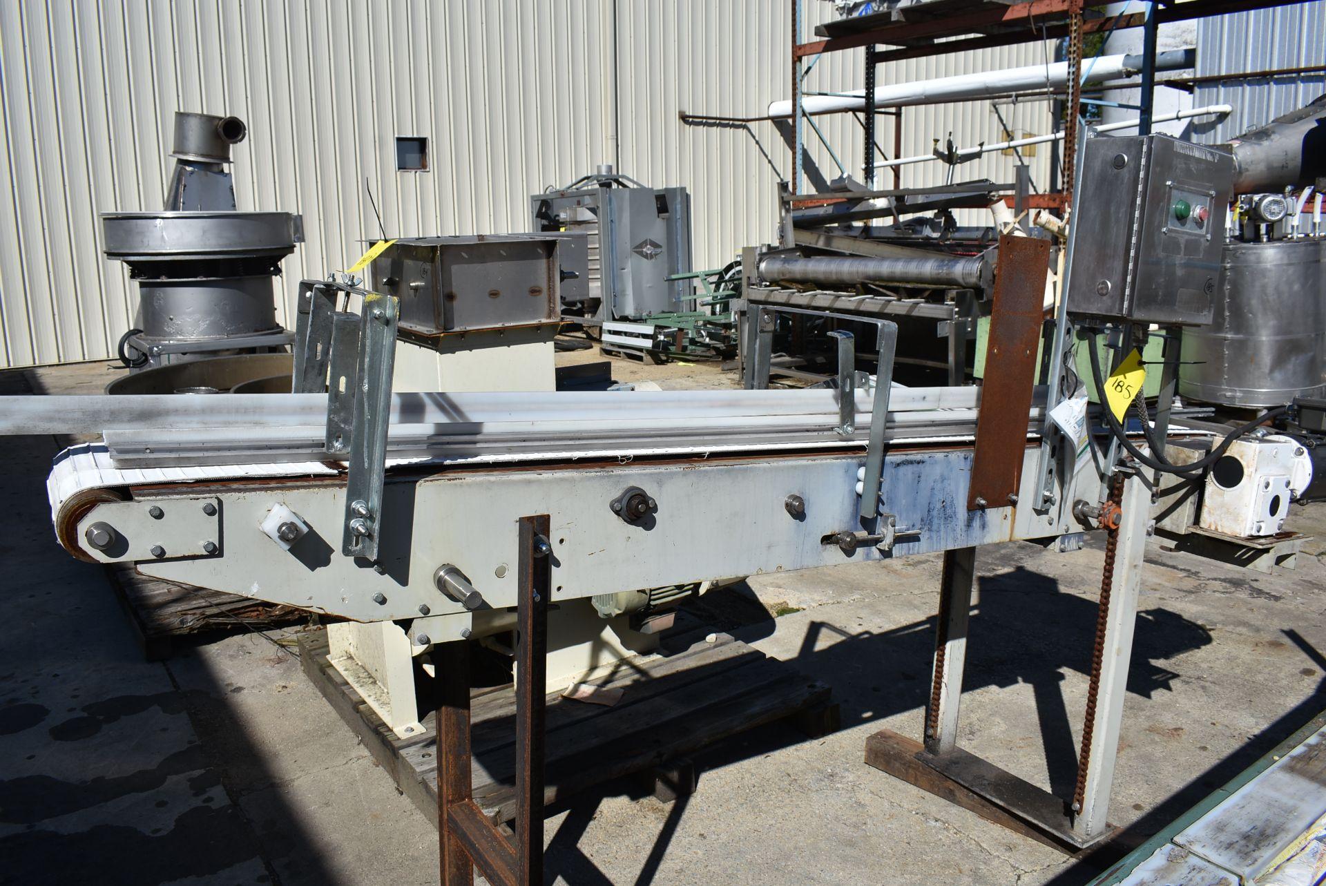 """Motorized Belt Conveyor, 9' Length x 10"""" Wide Belt"""