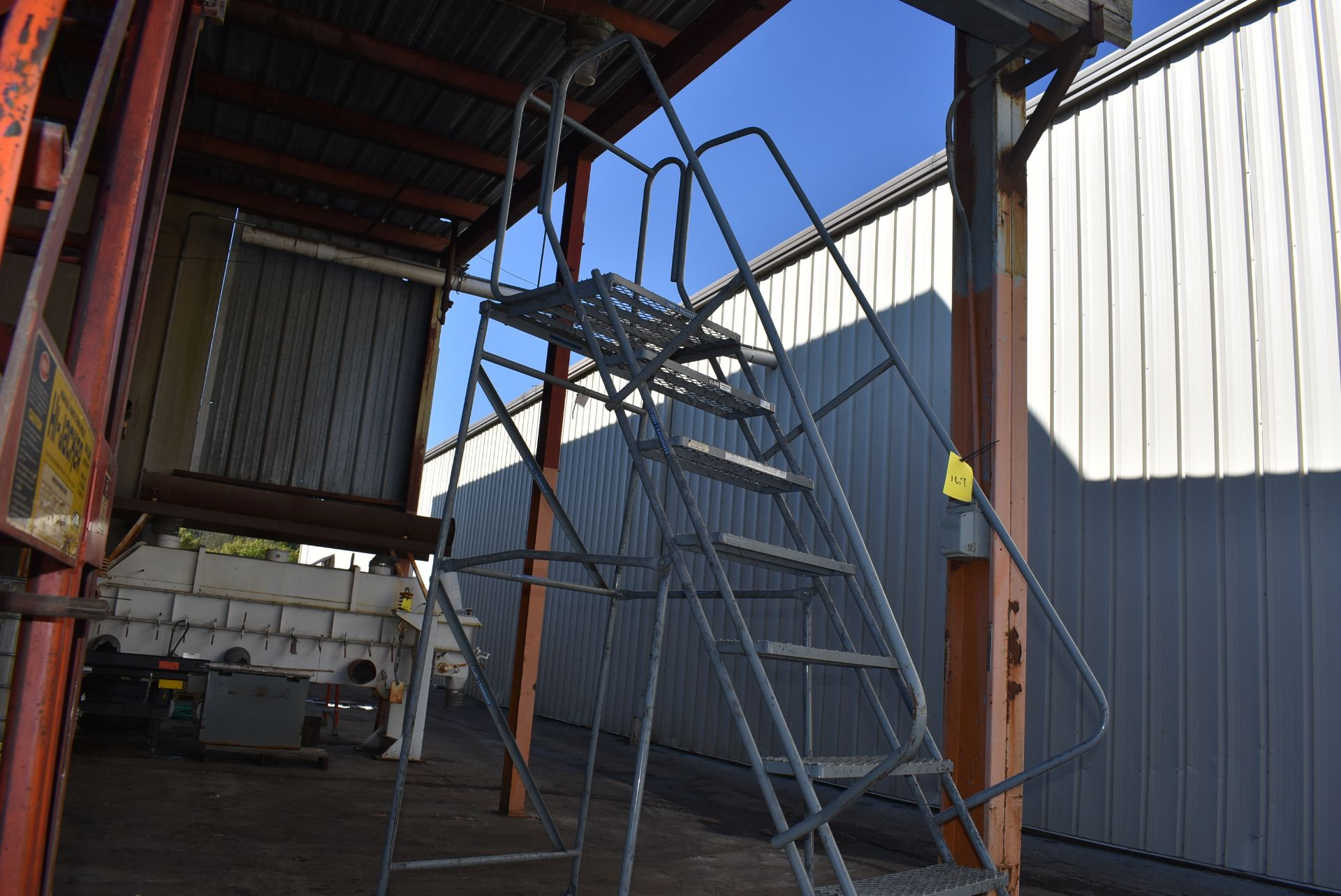 Uline 6' Portable Stairs - Image 3 of 3