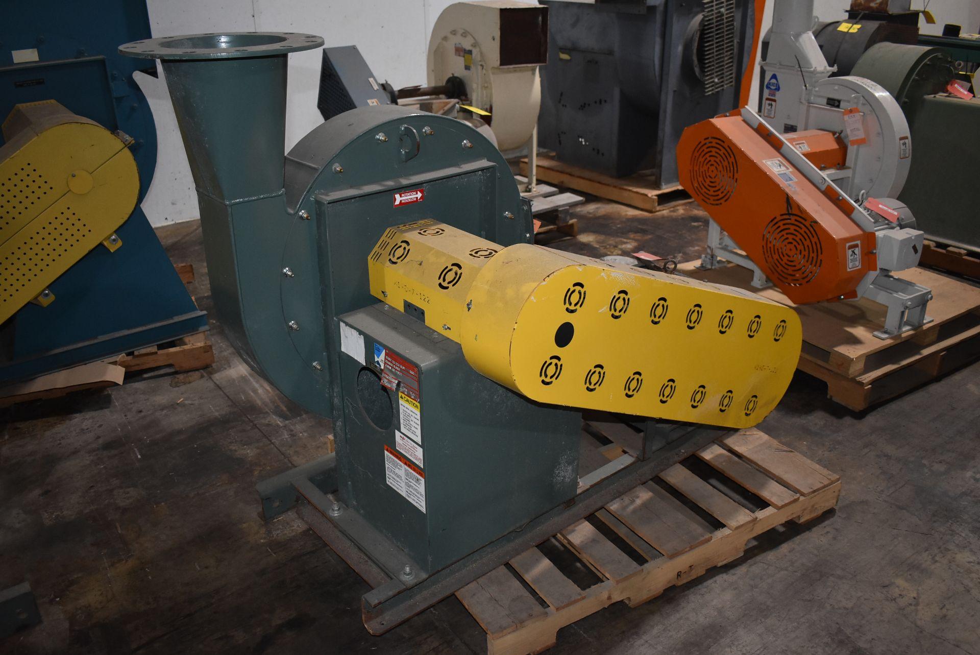 New York Blower, Wheel Size 2210 Aluminum w/15 HP Motor - Image 3 of 3