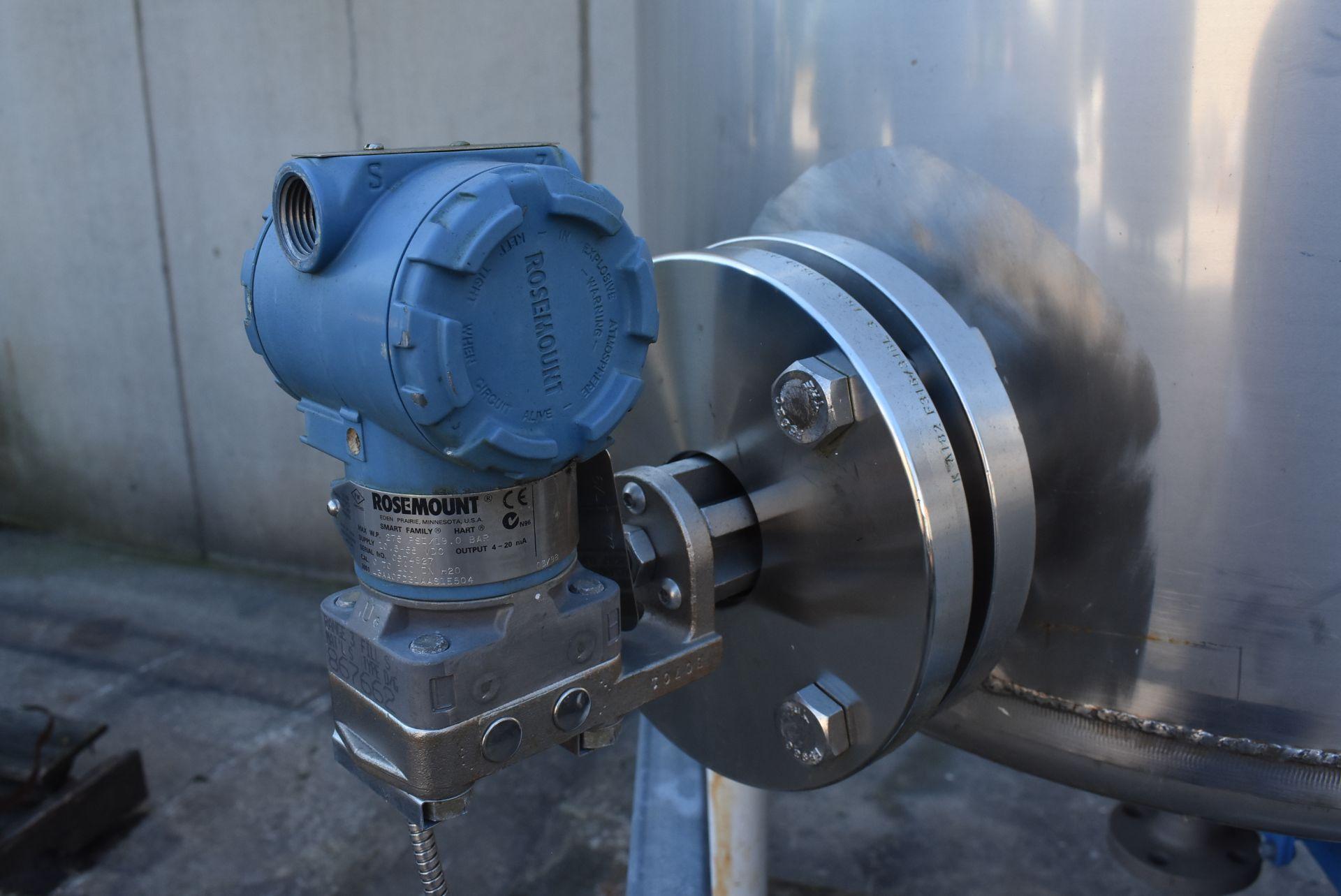 "Nova Fabricators Stainless Steel Tank, Rated 150 Gallon, 2' 6"" Diameter - Image 3 of 4"