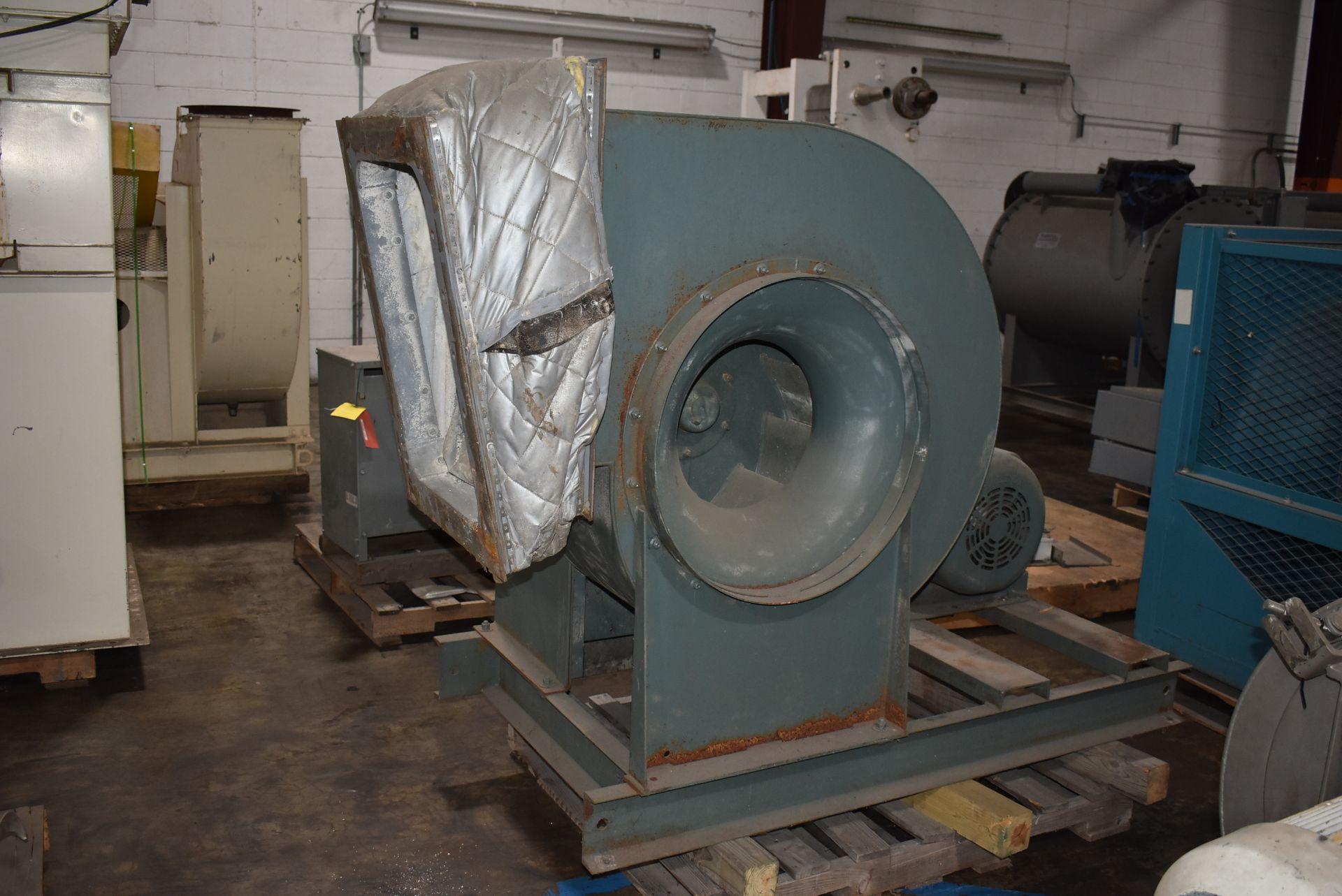 New York Blower, ACF/PLR Fan w/40 HP Motor - Image 4 of 4