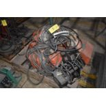 Plant Support - (4) Material Handling Hoists, (1) CW Railstar Trolley
