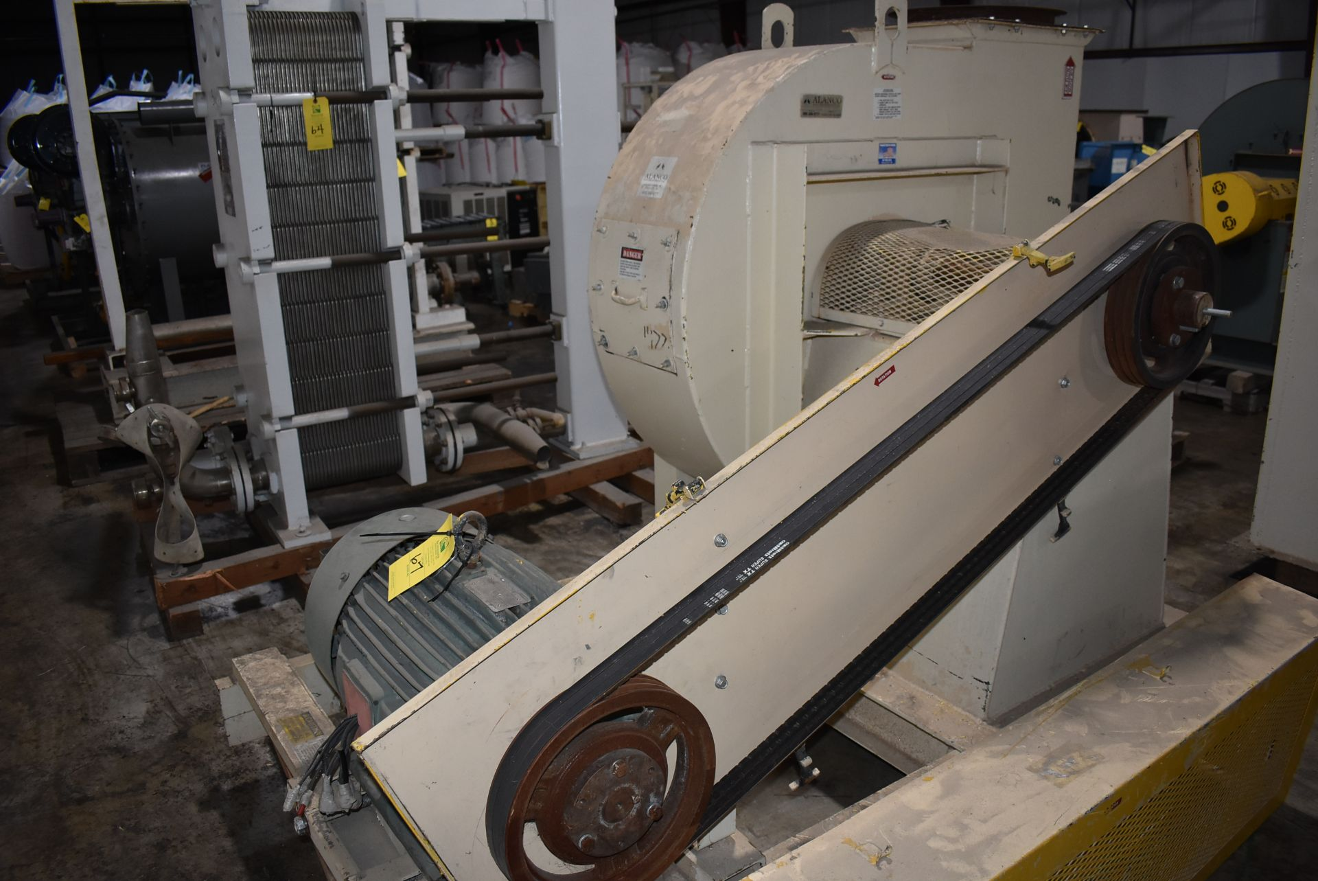 Alanco Environmental Model #334DH Blower w/50 HP Motor - Image 2 of 4